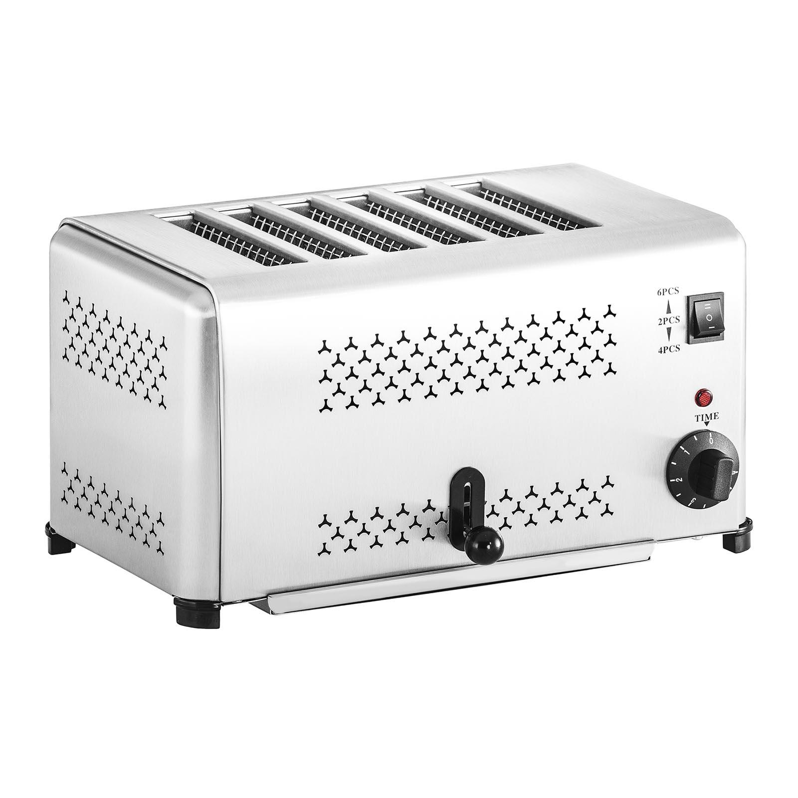 Royal Catering Gastronomie Toaster mit 6 Schlitzen 10010331