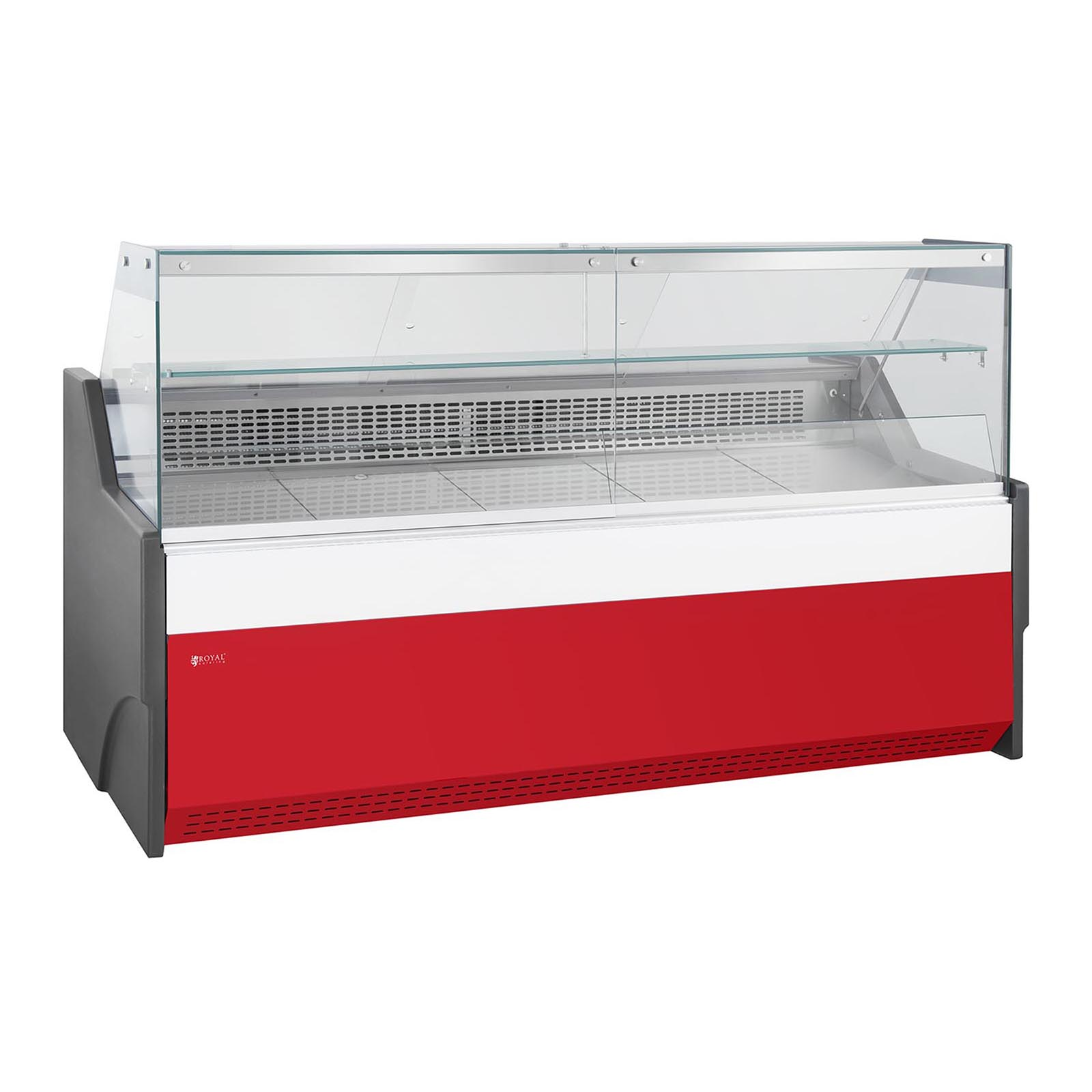 Royal Catering Gastro Kühlvitrine - 470 L - LED 10010954