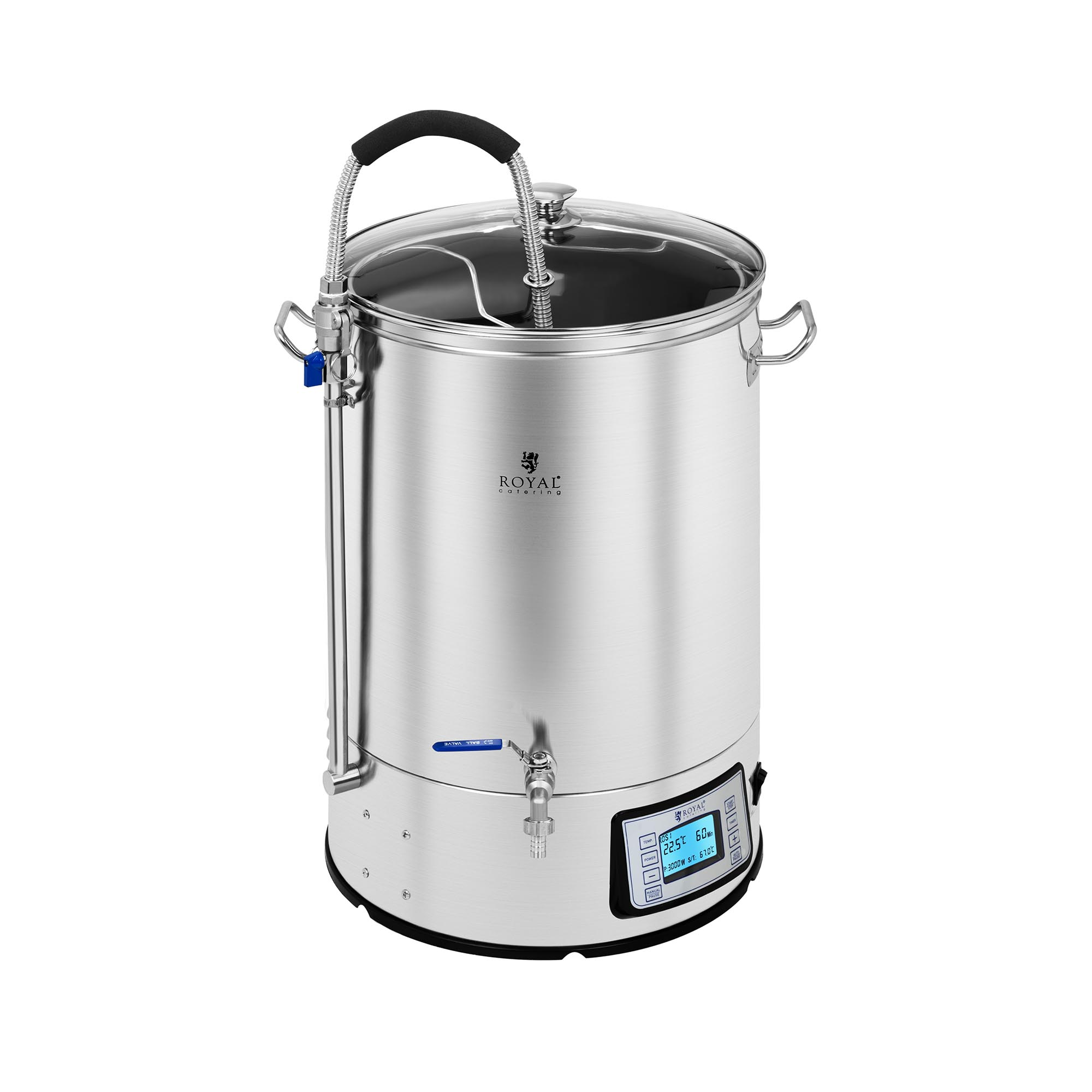 Royal Catering Braukessel - 40 L - 2.500 W 10011523