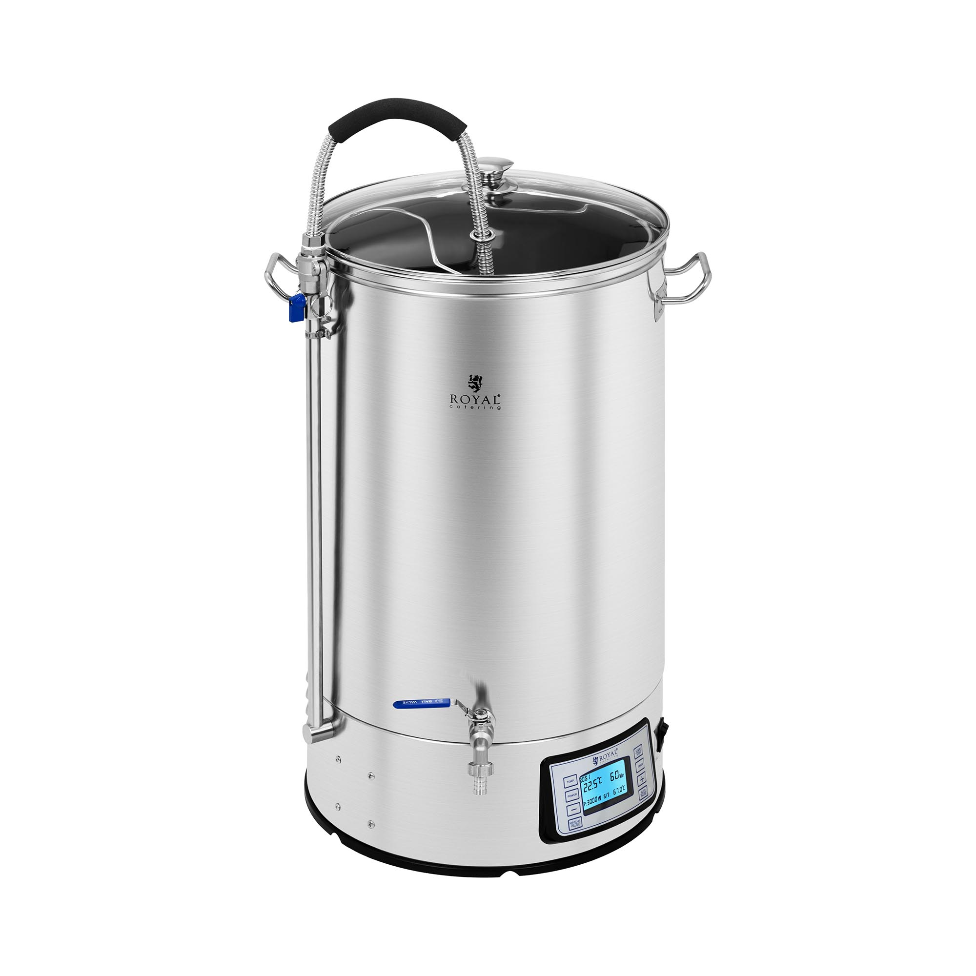 Royal Catering Braukessel - 60 L - 3.000 W 10011524