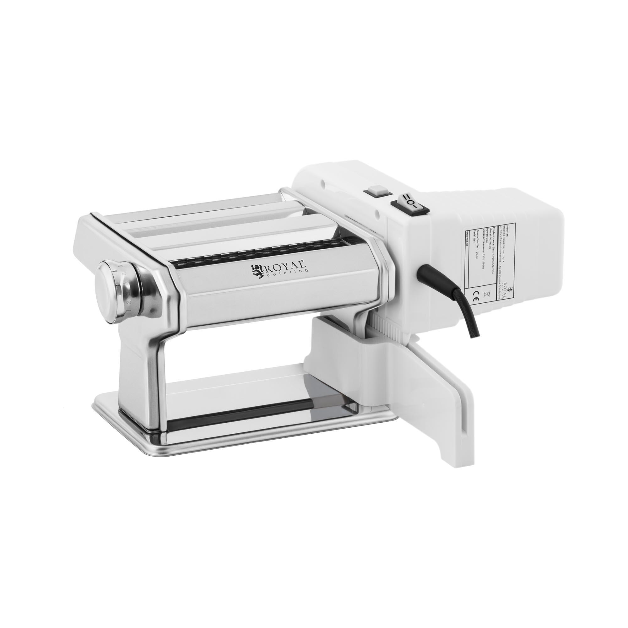 Royal Catering Nudelmaschine - 14 cm - 0,5 bis 3 mm - manuell oder elektrisch 10011632