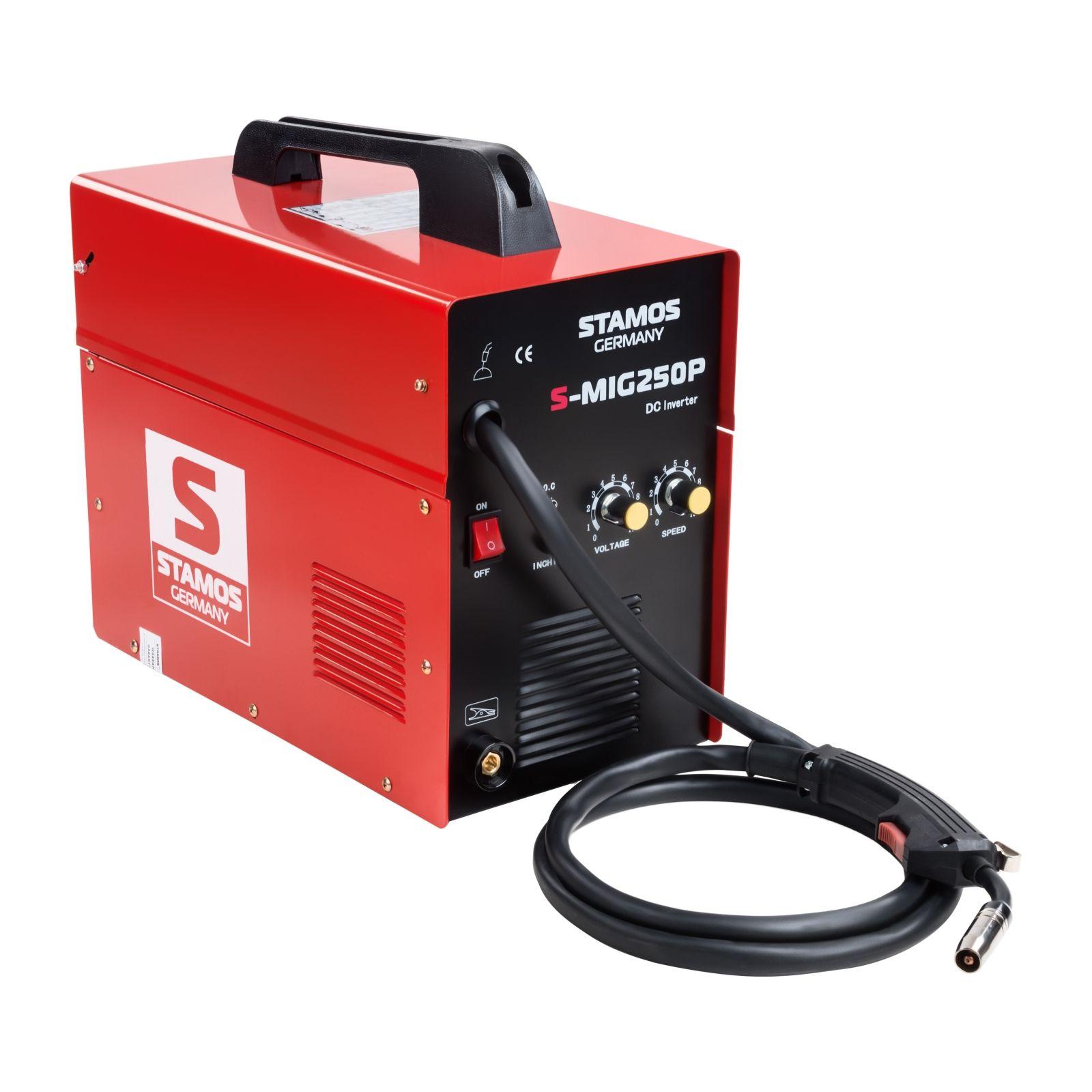 Stamos Basic MIG/MAG Schweißgerät - 250 A - 230 V - ED 60 % 10020022