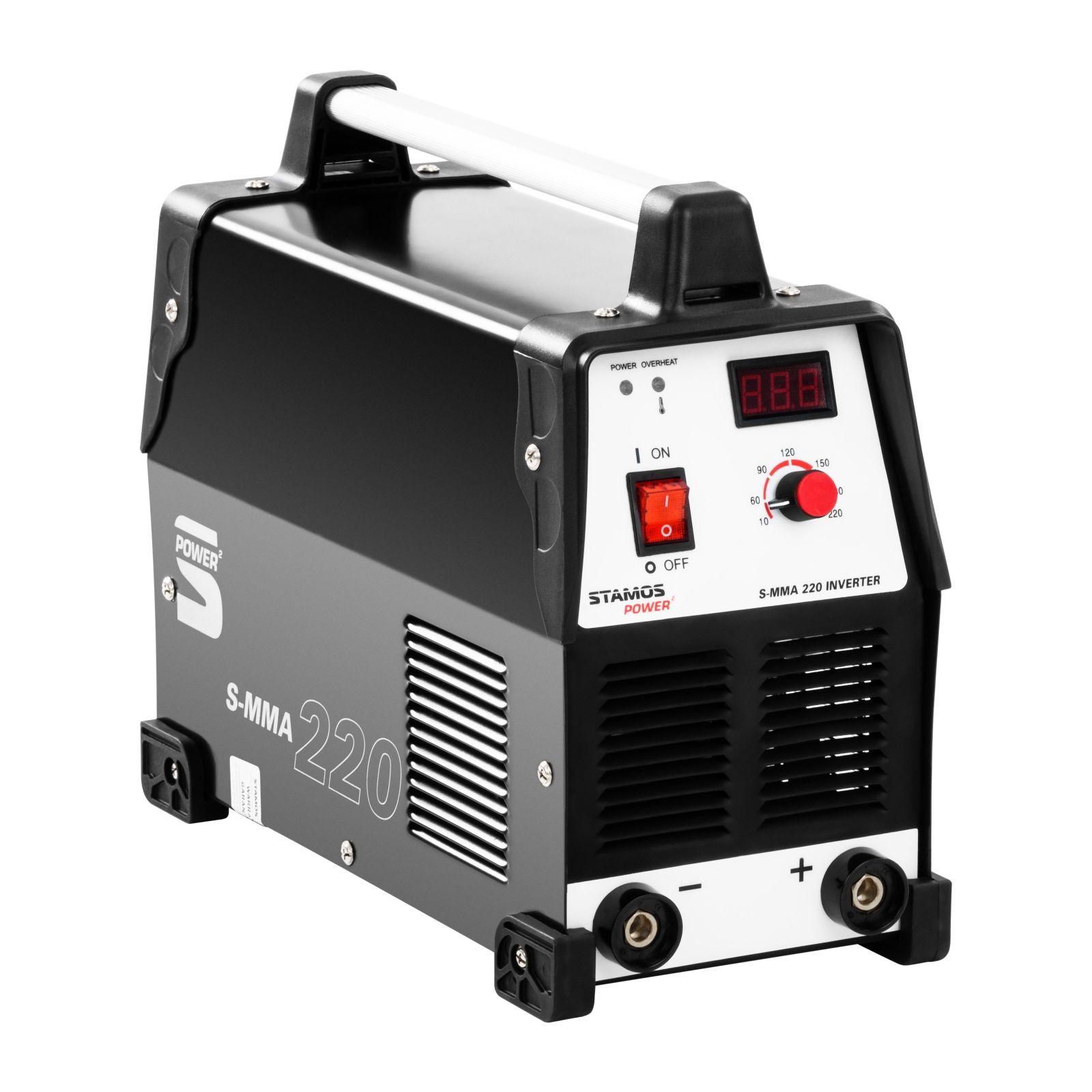 Stamos Power ² Elektroden Schweißgerät - 220 A - 230 V - LED 10020130