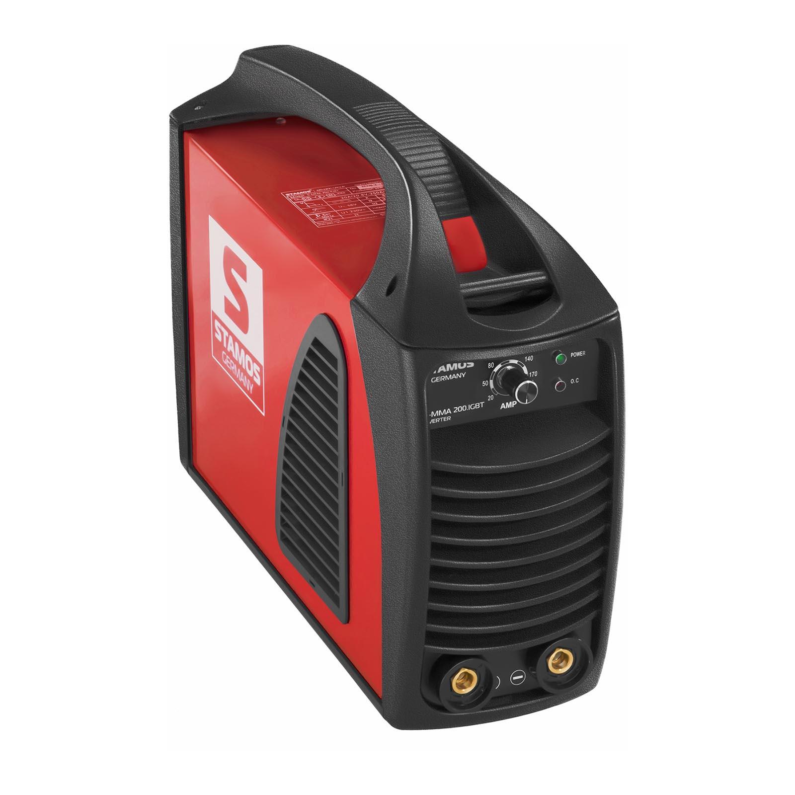 Stamos Germany Elektrodesveiseapparat - 200 A - Hot Start - IGBT 10020202