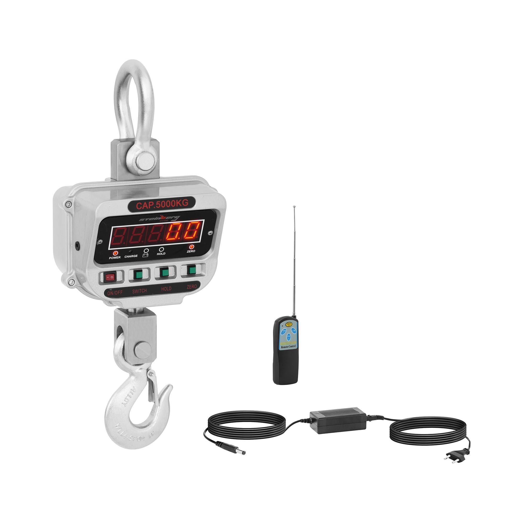 Steinberg Systems Kranwaage - 5 t / 1 kg - LED SBS-KW-5TE