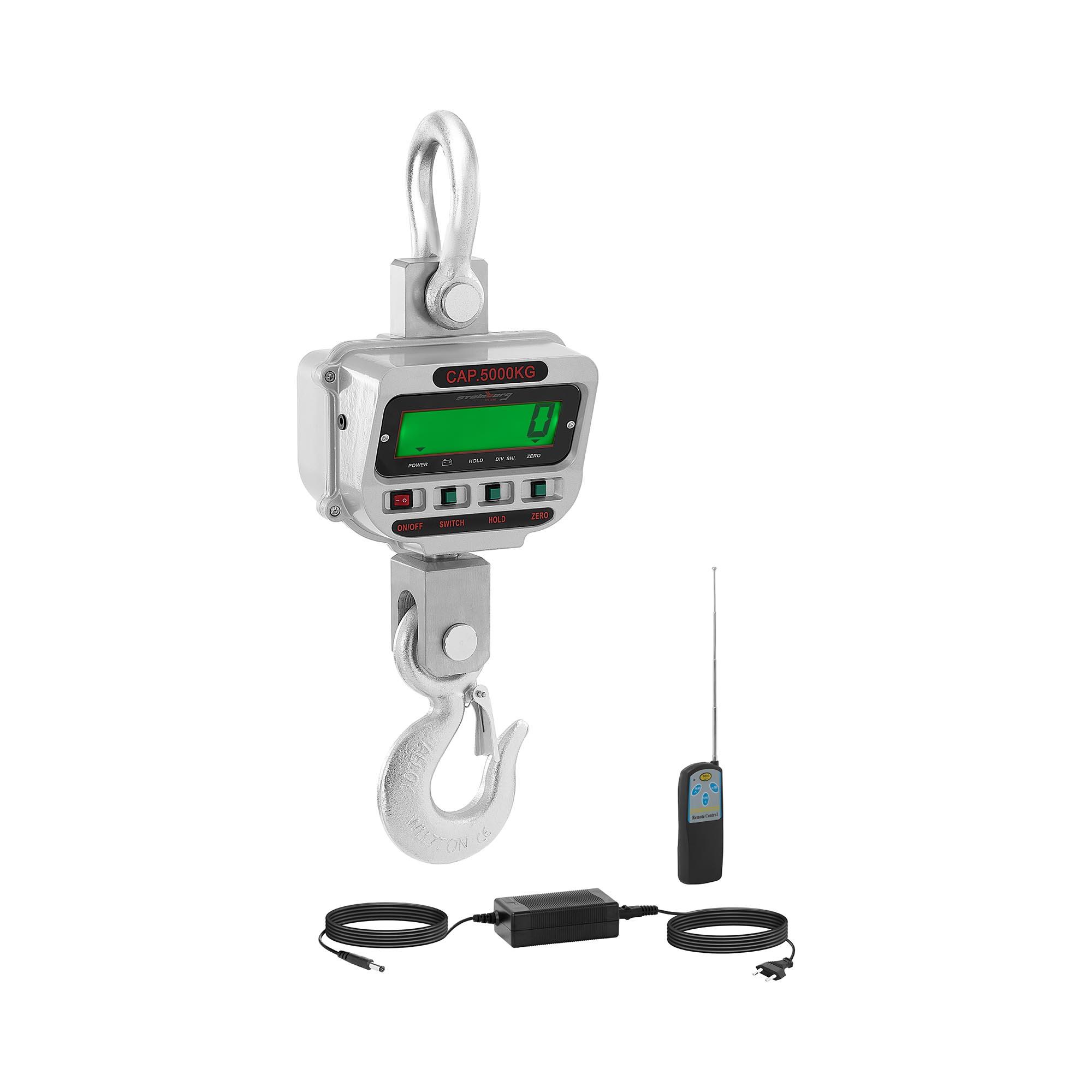 Steinberg Systems Kranwaage - 5 t / 1 kg - LCD SBS-KW-5TC