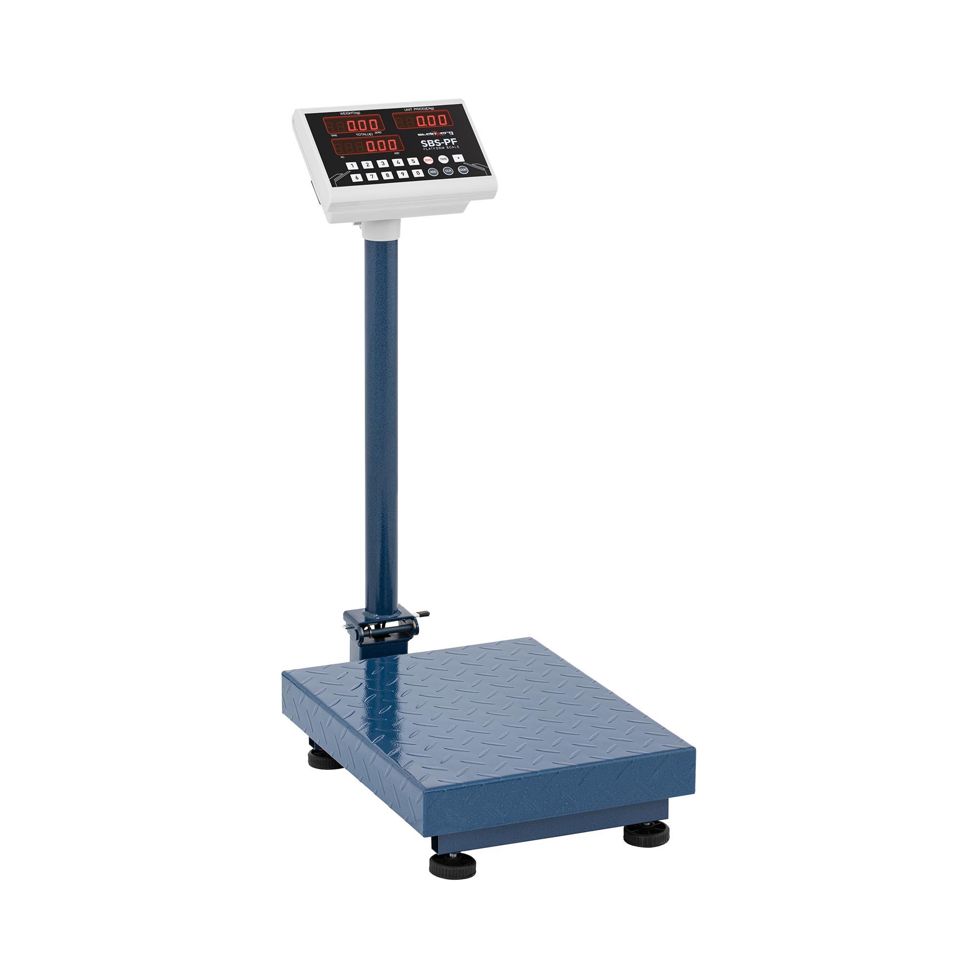 Steinberg Systems Plattformwaage - 100 kg / 10 g - 40 x 30 cm - klappbar SBS-PF-100A8 KLAPPBAR/ WAGA PLATFOR