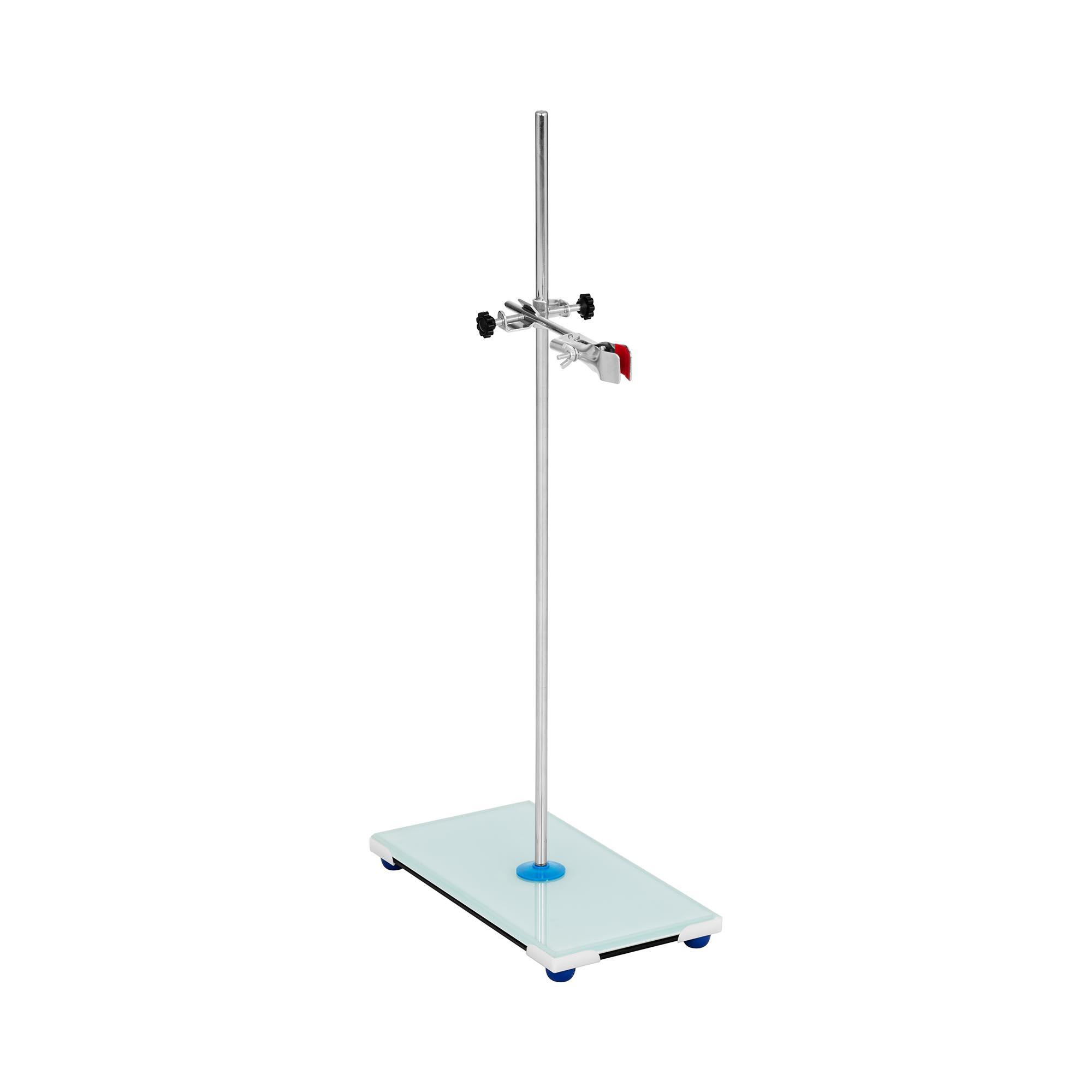 Steinberg Systems Laborstativ - mit Klemme und Muffe - Glasboden 10030614