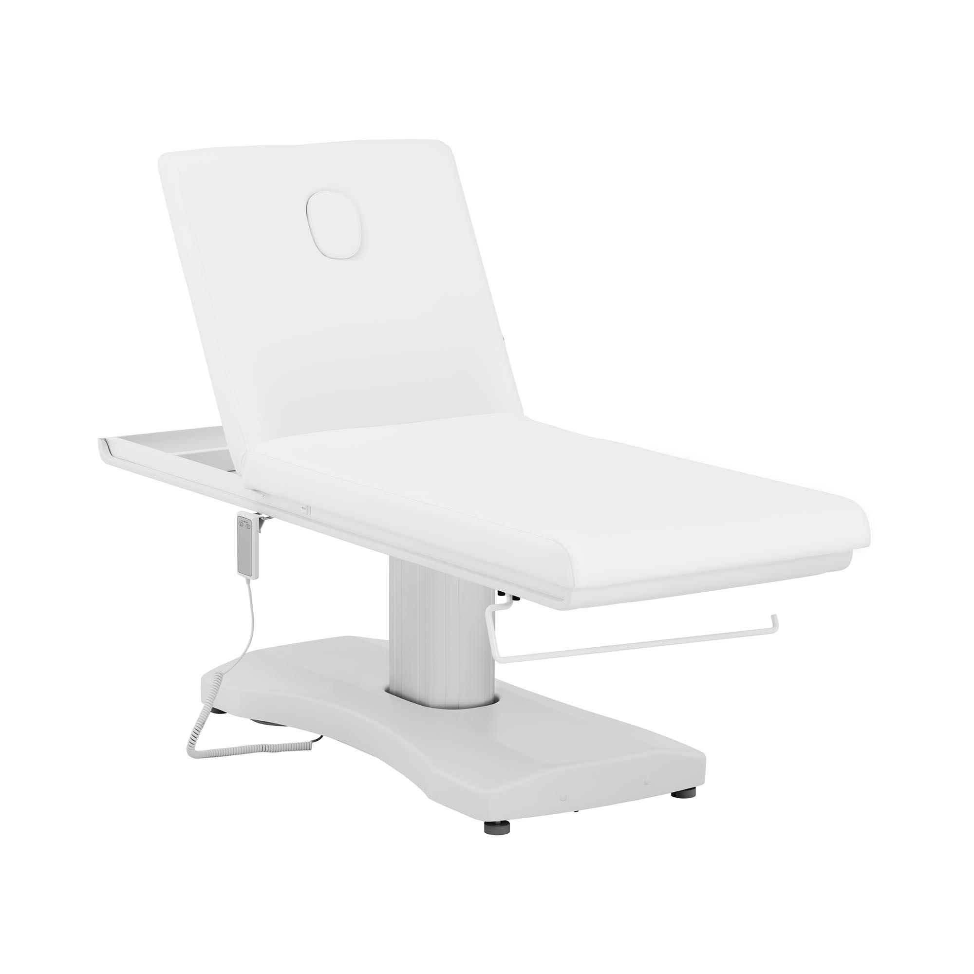 physa Massageliege LIMOGES WHITE - elektrisch - 175 kg