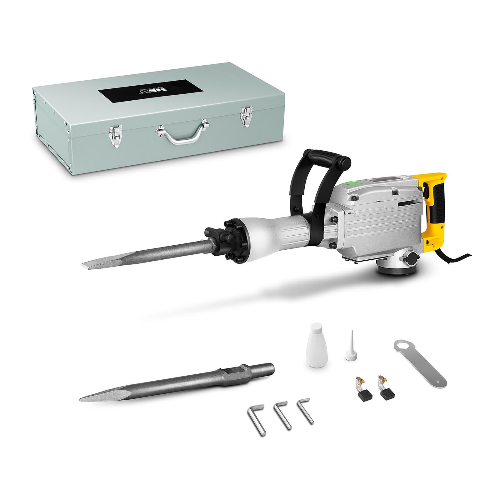 MSW Abbruchhammer - 1.850 W - 1.900 Schläge/min - 45 Joule - SDS Hex ABH-1850-2