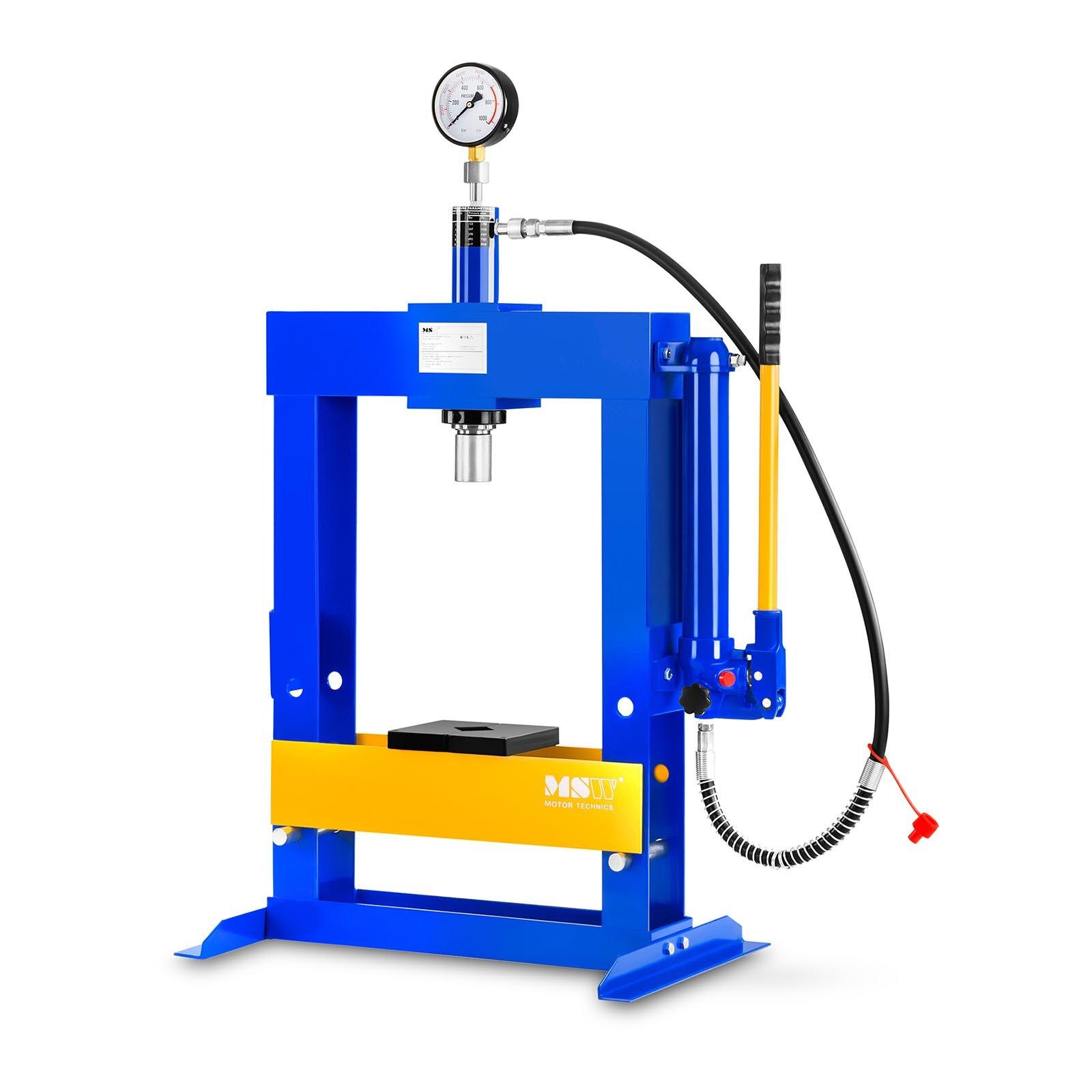 MSW Werkstattpresse hydraulisch - 10 t Pressdruck 10060300