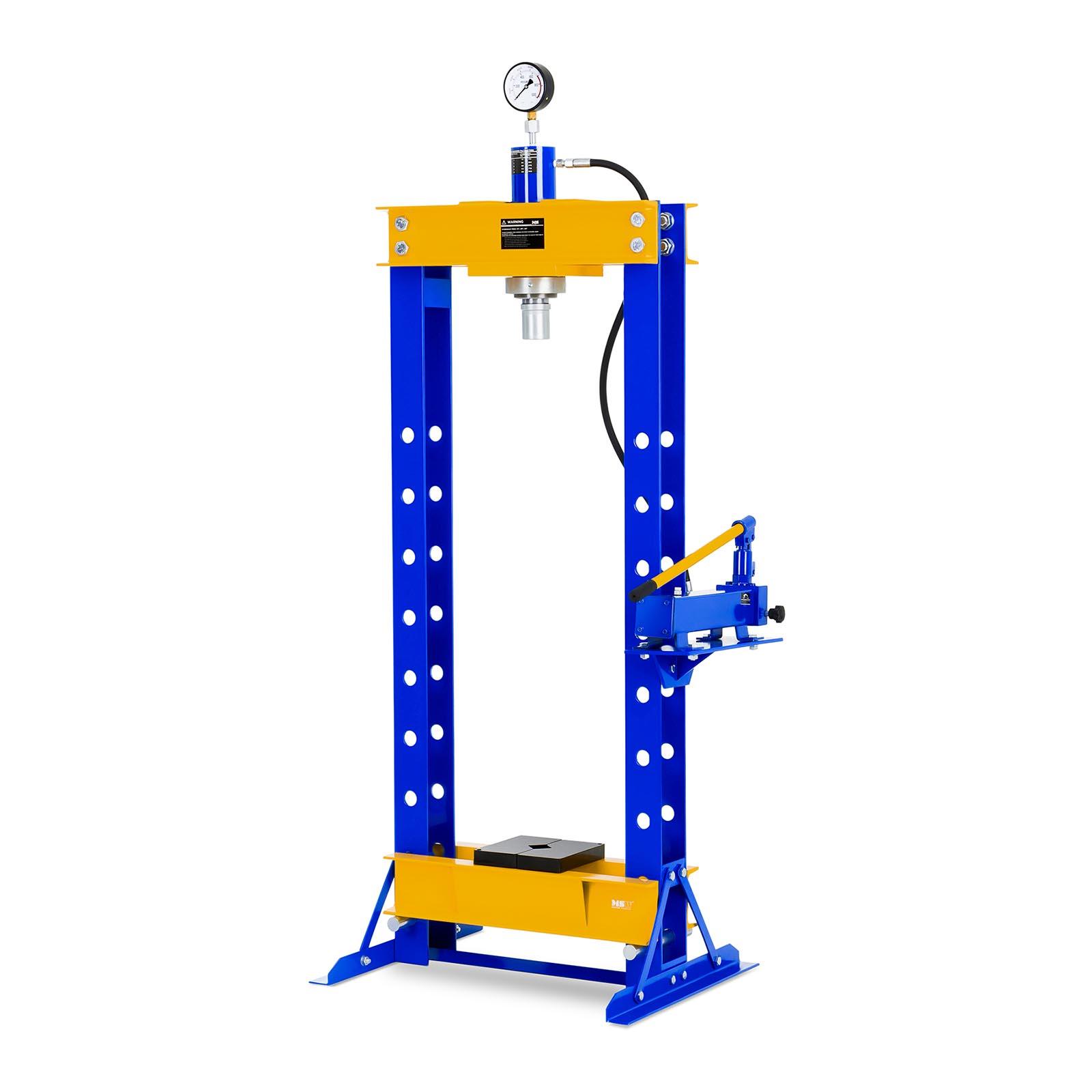 MSW Werkstattpresse hydraulisch - 30 t Pressdruck 10060301