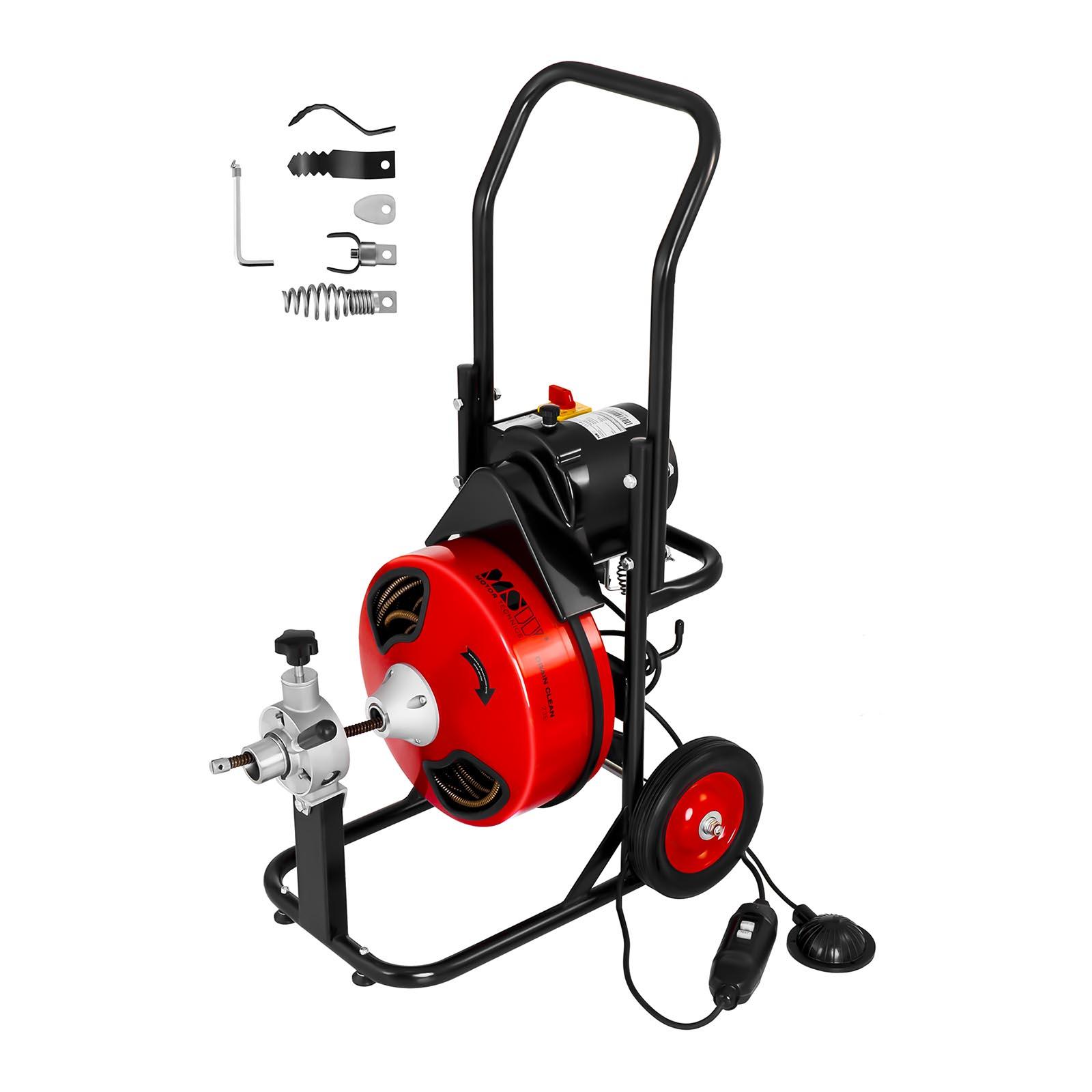 MSW Trommel Rohrreinigungsmaschine - 390 W - Ø 25 bis 125 mm 10060350