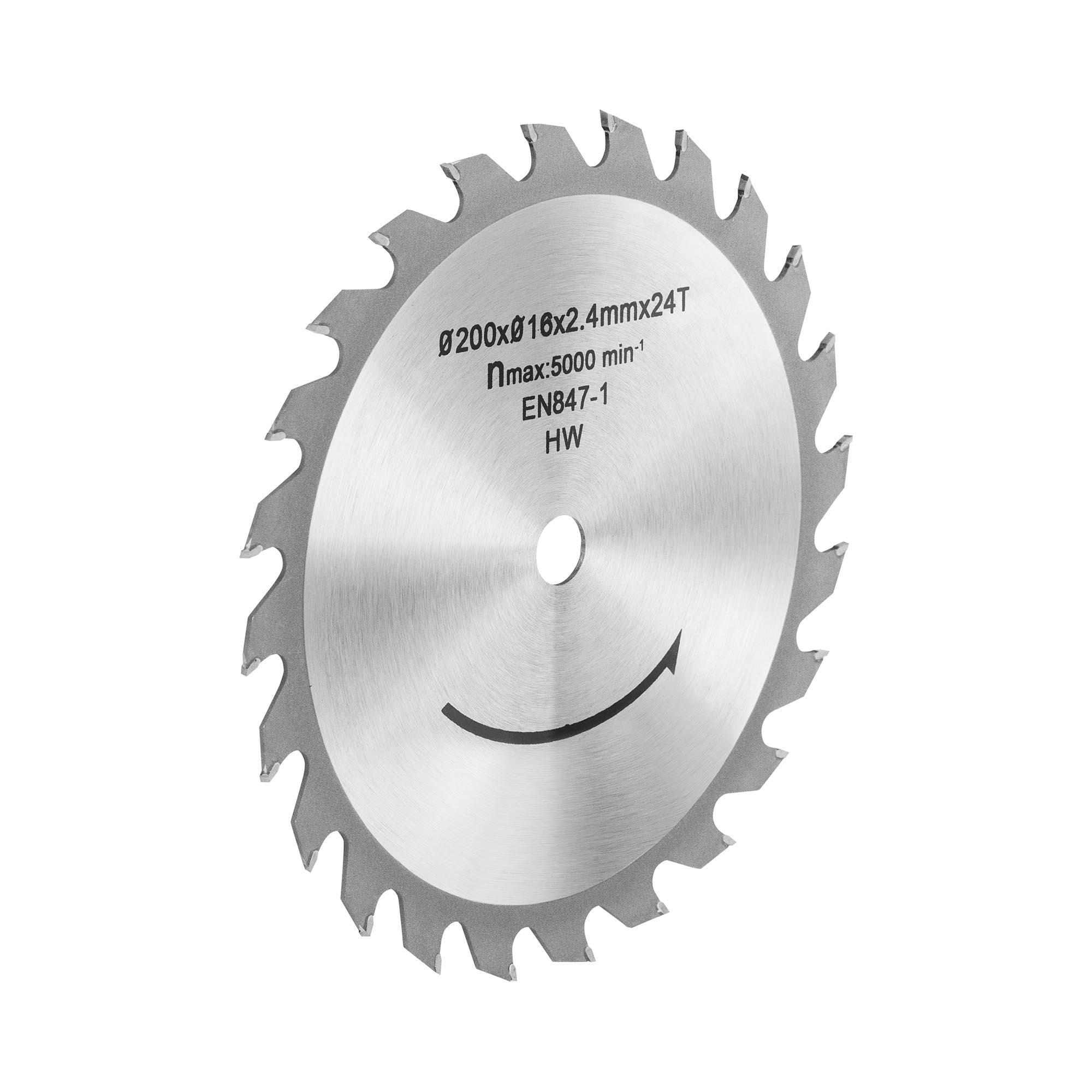 MSW Tischkreissägeblatt - Ø200 mm 10060800