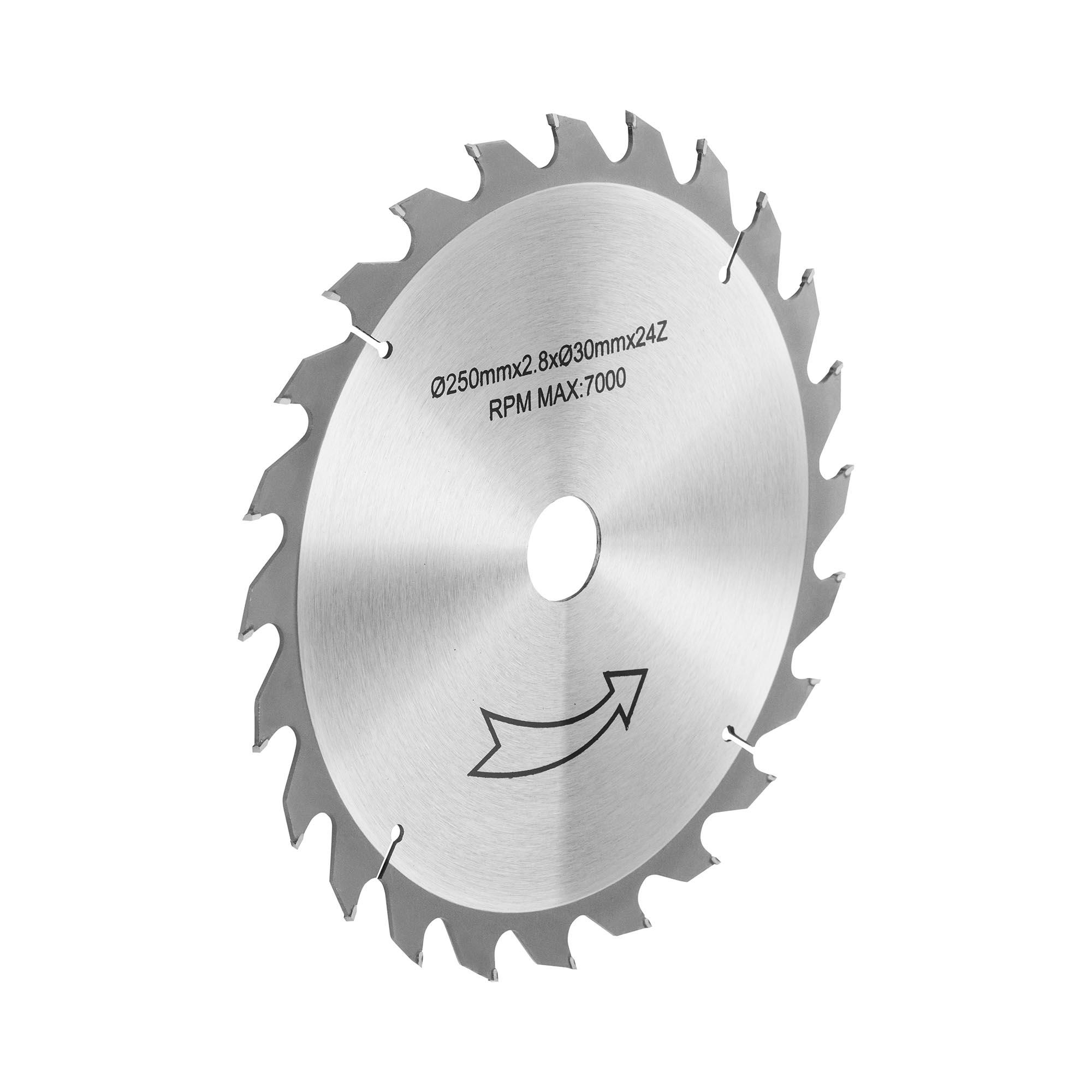MSW Tischkreissägeblatt - Ø250 mm 10060802