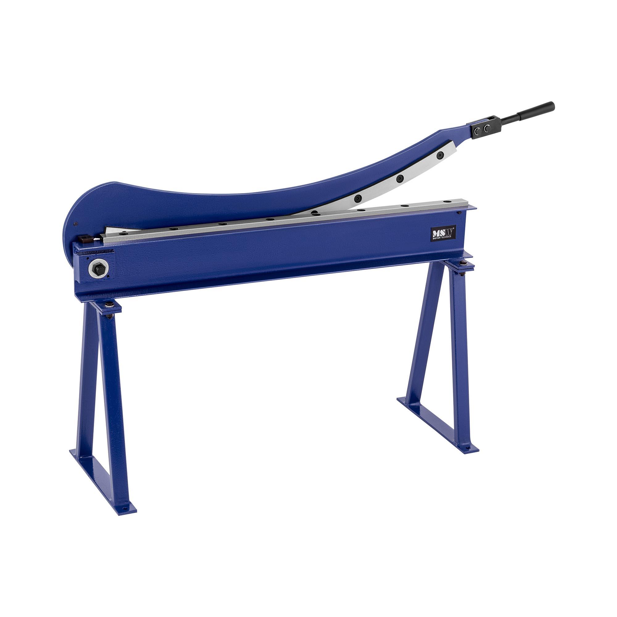 MSW Metallplateklipper - 1000 mm snittlengde - inkl. stativ 10060949