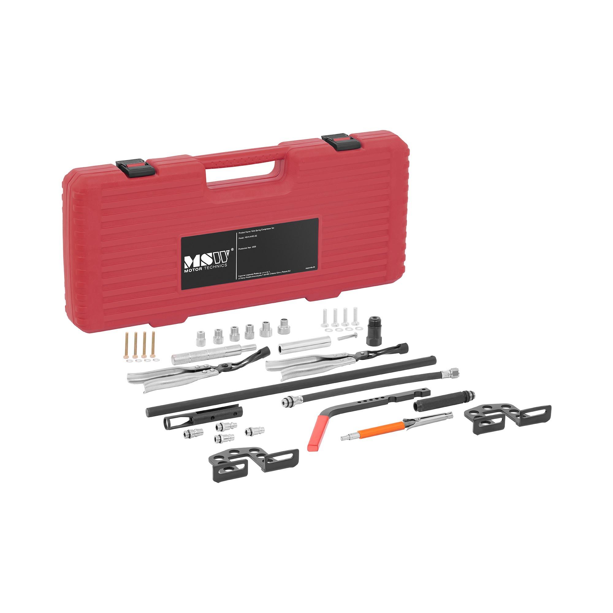 MSW Ventilfederspanner Druckluft - 22 Teile MSW-AVSC-02