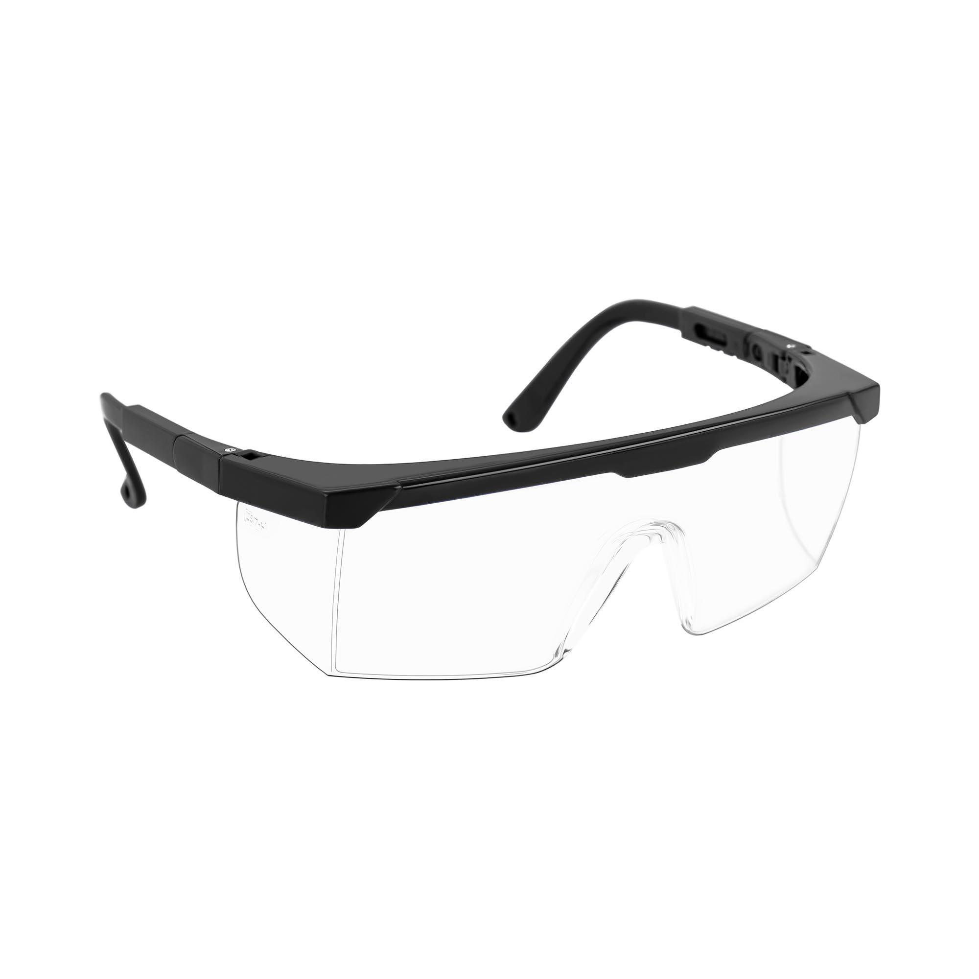 MSW Schutzbrille - 15er Set - klar - verstellbar JHSAFETY-01