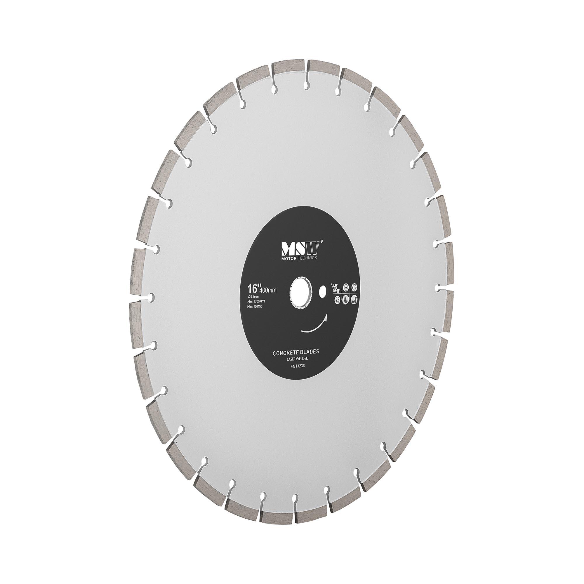 MSW Diamanttrennscheibe - 400 mm MSW-FSCB-400/25