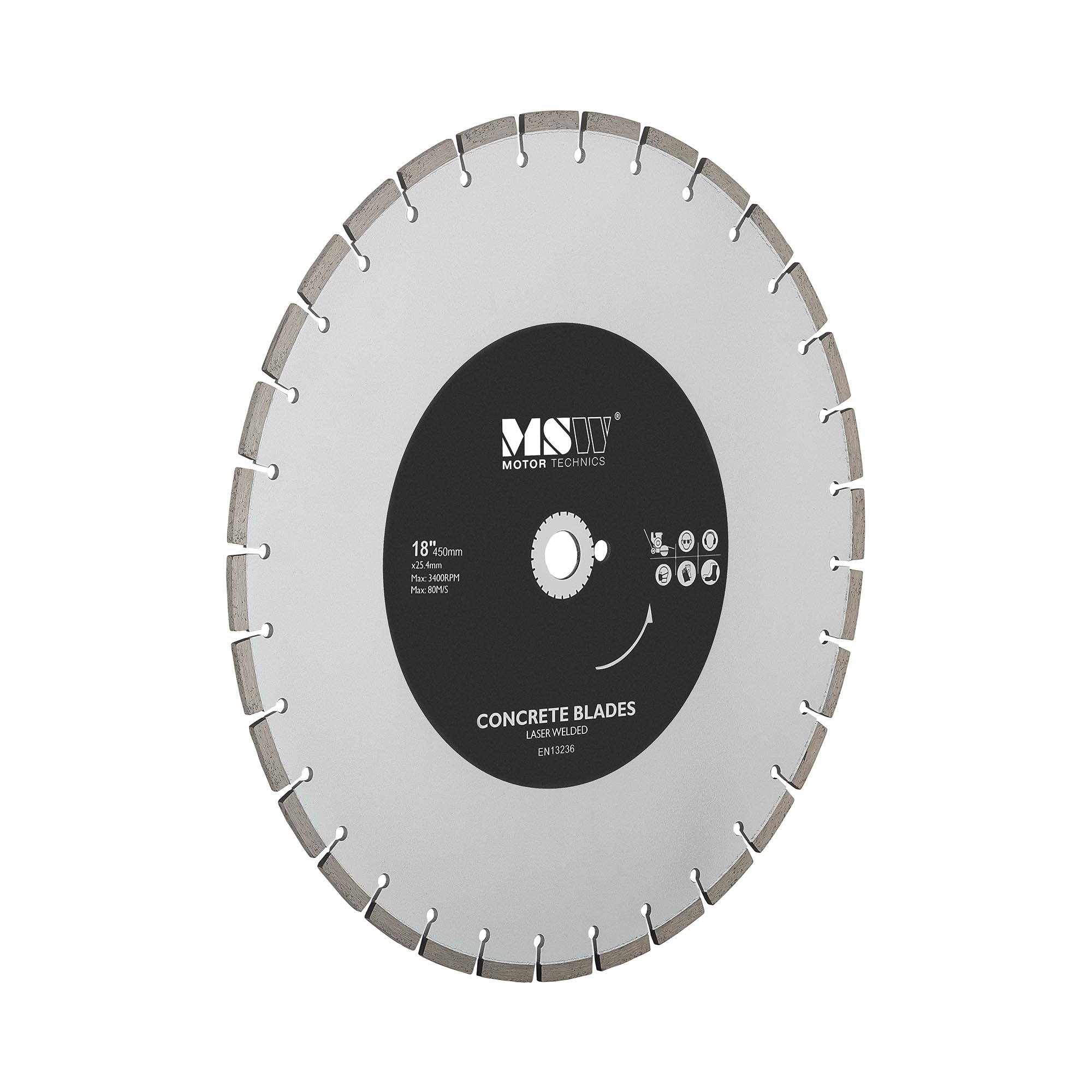 MSW Diamanttrennscheibe - 450 mm MSW-FSCB-450/25