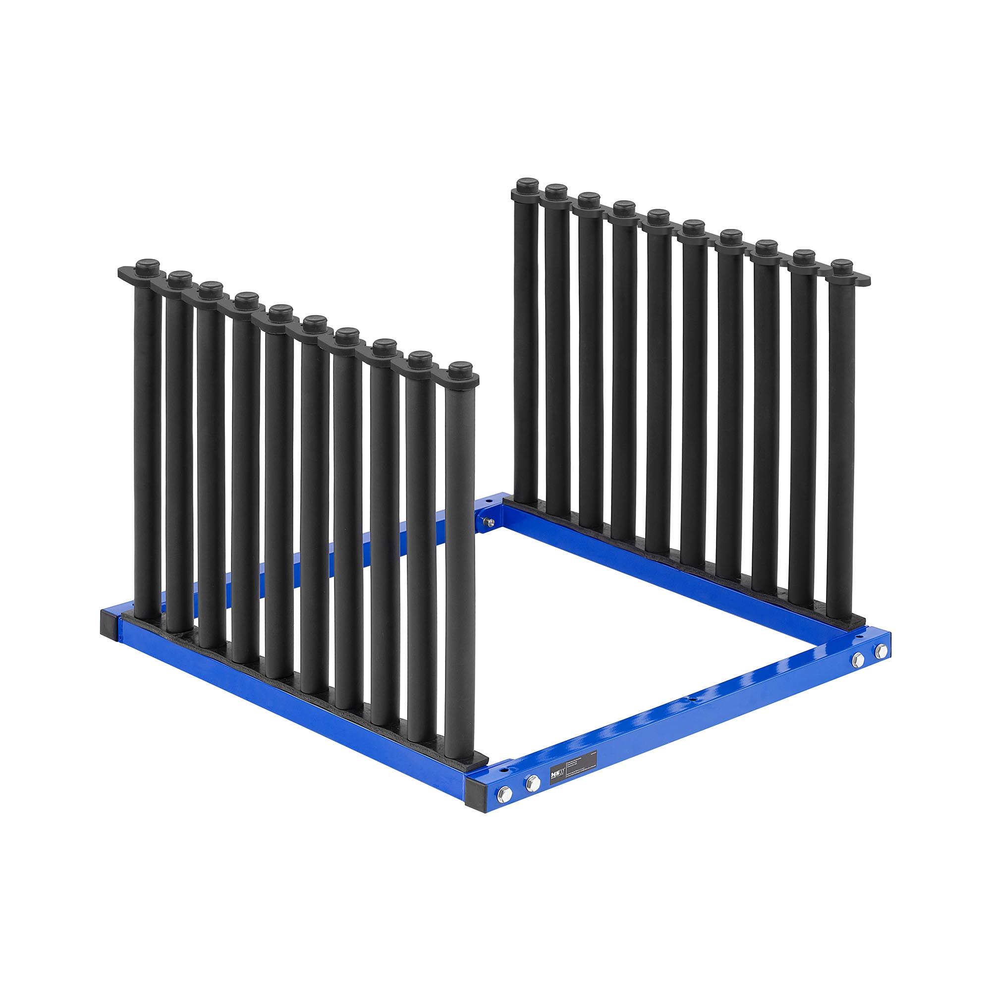 MSW Windschutzscheiben-Ständer - für 9 Scheiben MSW-WR-100