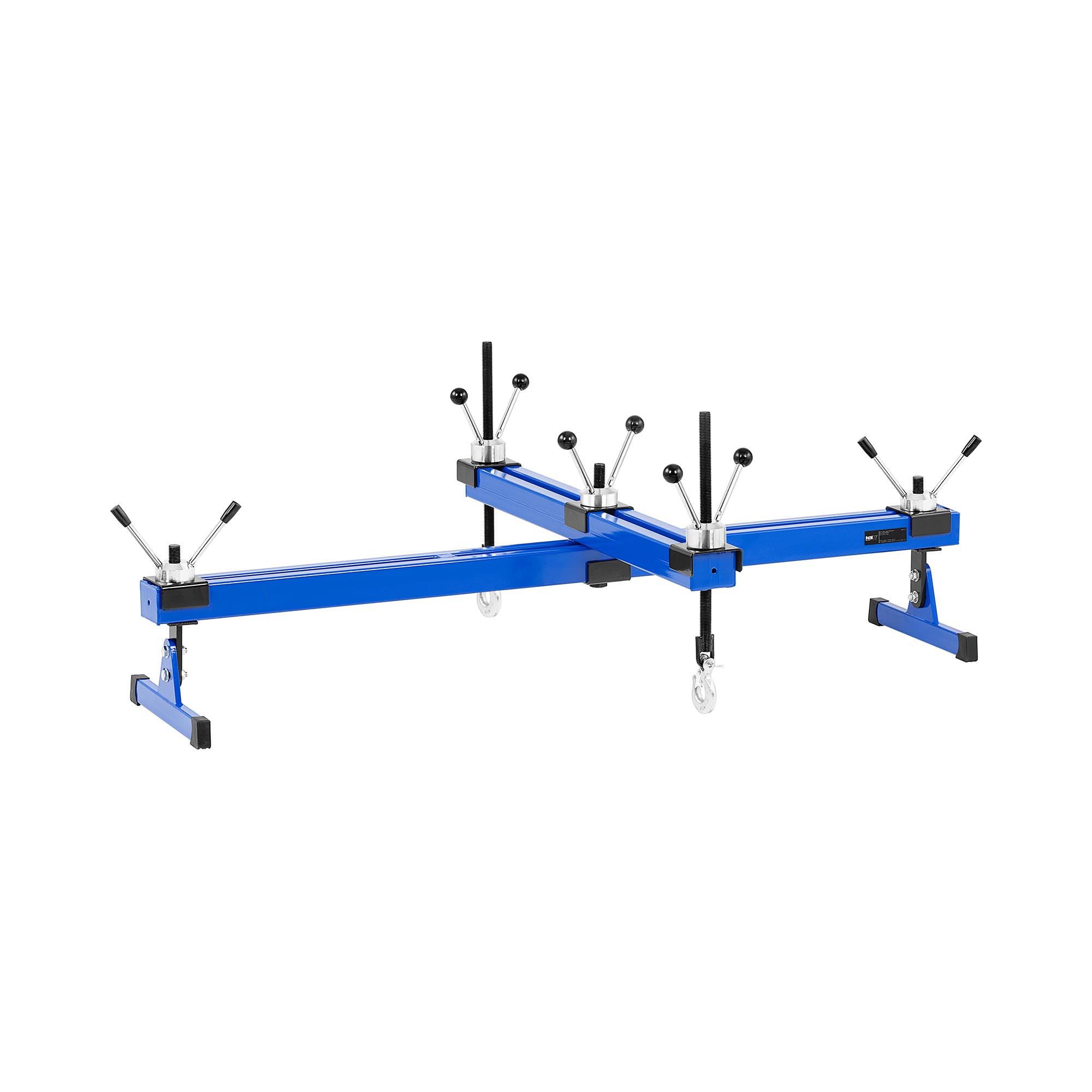 MSW Motorbrücke - mit Querträger - 500 kg - Hauptträger: 14 - 140 cm - Querträger: 14 - 81 cm MSW-MB-500N