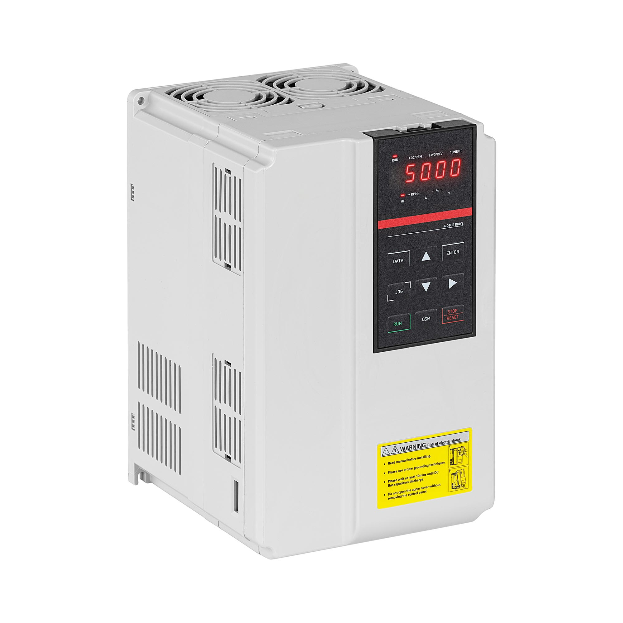 MSW Frequenzumrichter - 7,5 kW / 10 PS - 380 V - 50 - 60 Hz - LED MSW-FI-7500