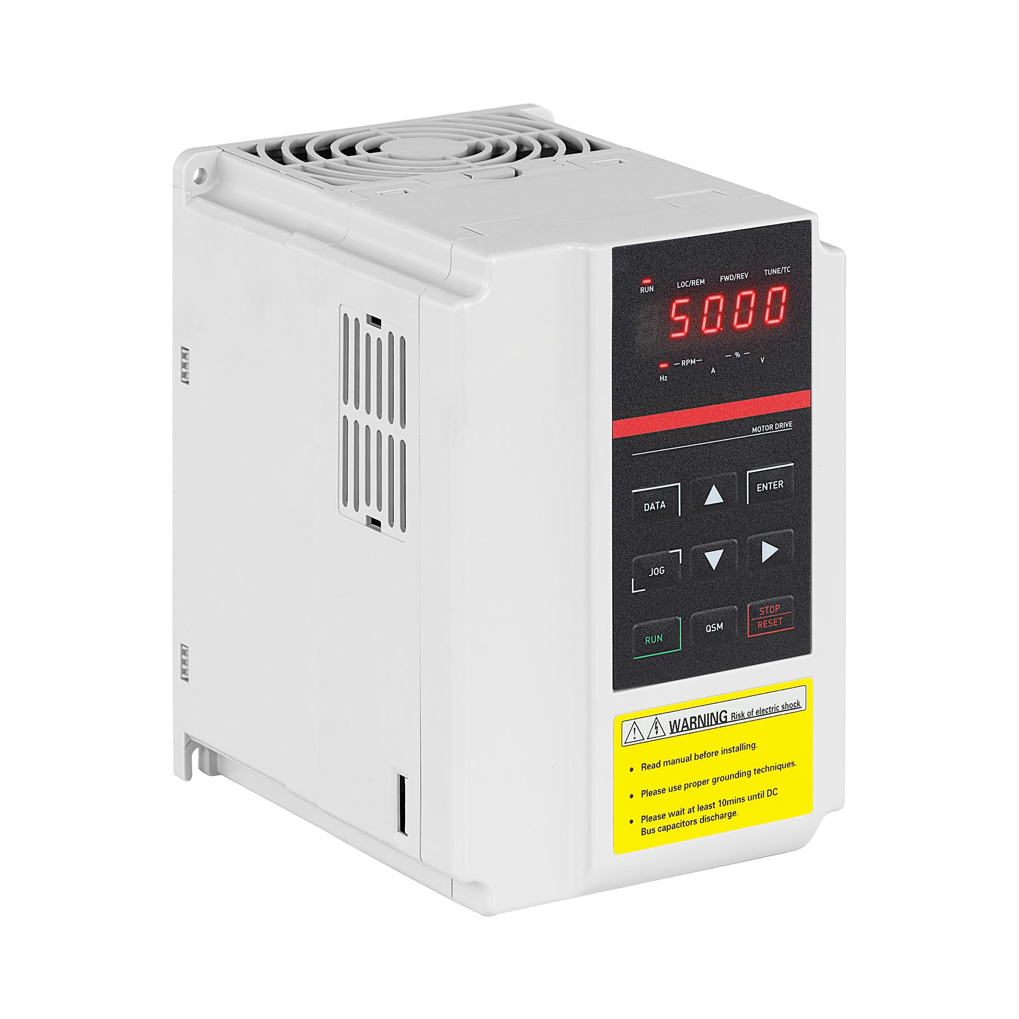 MSW Frequenzumrichter - 2,2 KW / 3 PS - 380 V - 50 - 60 Hz - LED MSW-FI-2200