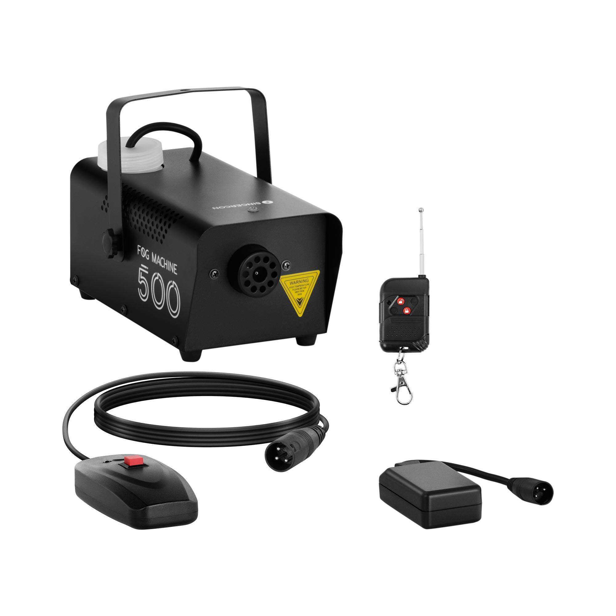 Singercon Nebelmaschine - 500 W - 28,32 m³ - DMX-Anschluss CON.FM-500