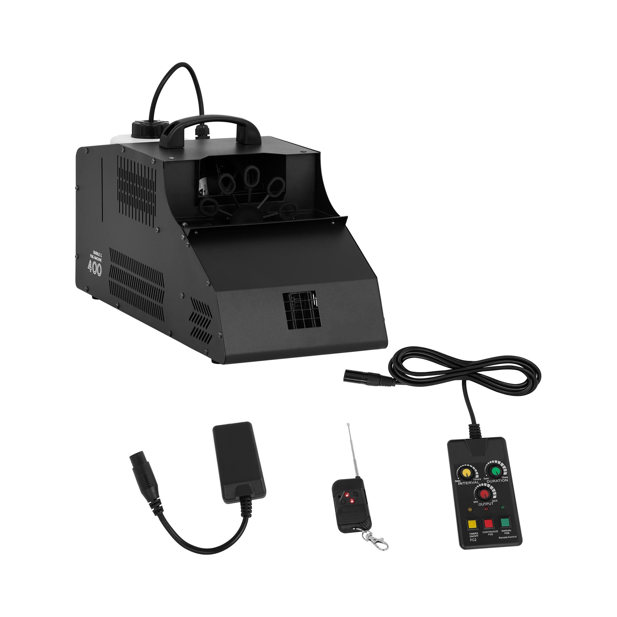 Singercon Nebel- und Seifenblasenmaschine - 400 W - 56 m³/min 10110033
