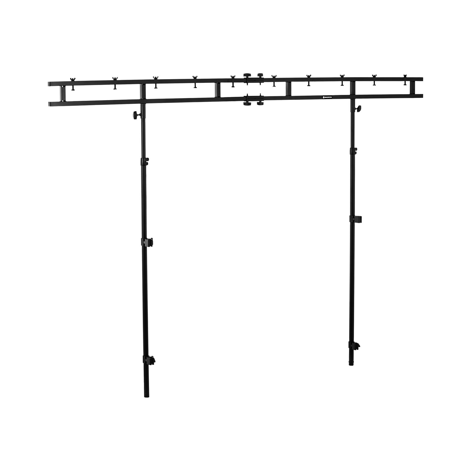 Singercon Lichttraverse für DJ-Tisch - bis 60 kg - 1,55 bis 2,70 m CON.LS2700E1.04