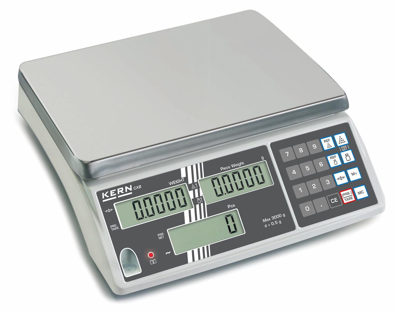 KERN Zählwaagen - 3000 g / 1 g - optional geeicht KERN Zählwaage CXB 3K1NM