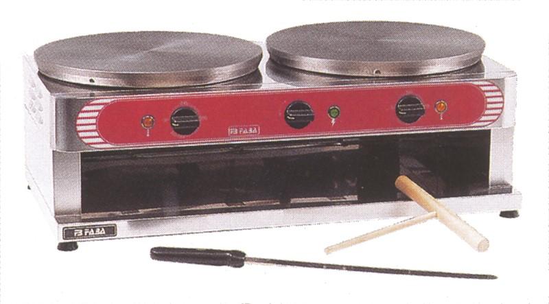 GGG Crêpes-Eisen - Elektro - 710 x 370 x 250 mm 10172410