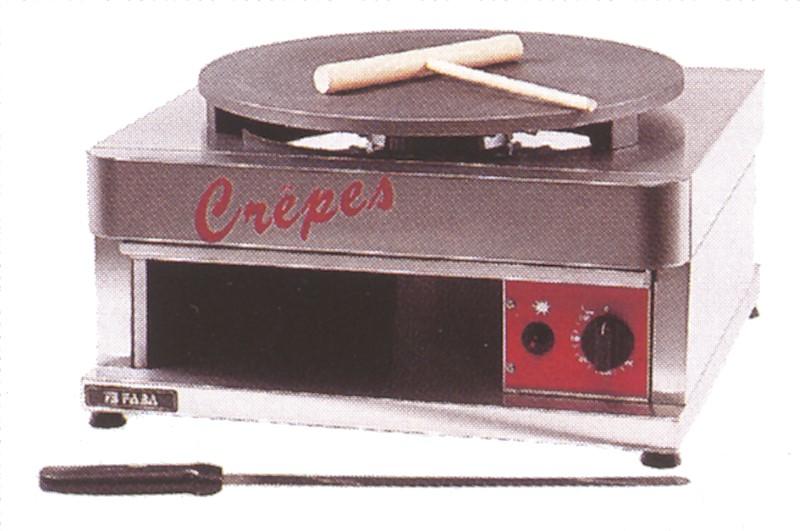 GGG Crêpes-Eisen (Gas) 430 x 480 x 270 mm - Ø 400 mm 10172720