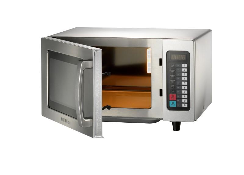 GGG Mikrowelle - 511 x 431 x 311 mm - Gehäuse und Garraum aus Edelstahl - Leistung 10173577