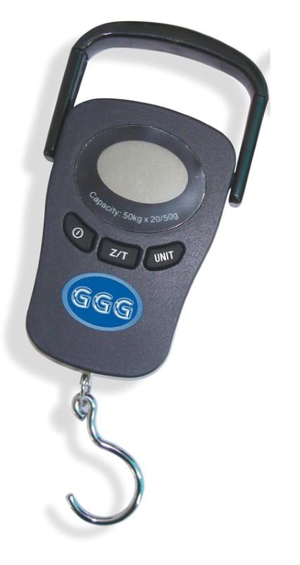 GGG Mobile Waage 153x88x26mm - Kapazität 50kg/20-50g Teilung 10173586