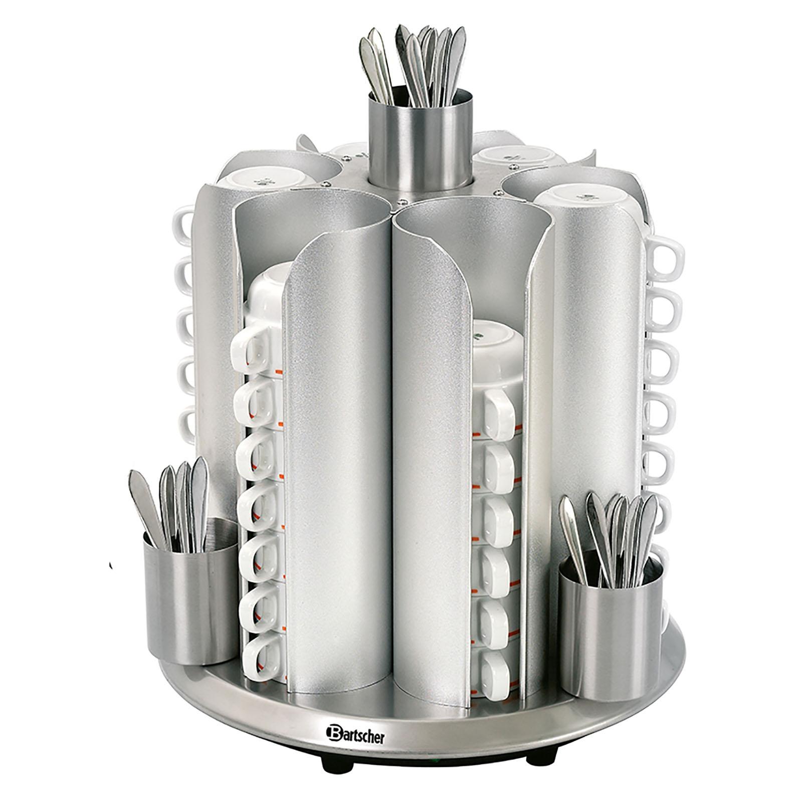 Bartscher Tassenwärmer - für 48 Tassen, CNS 10190140