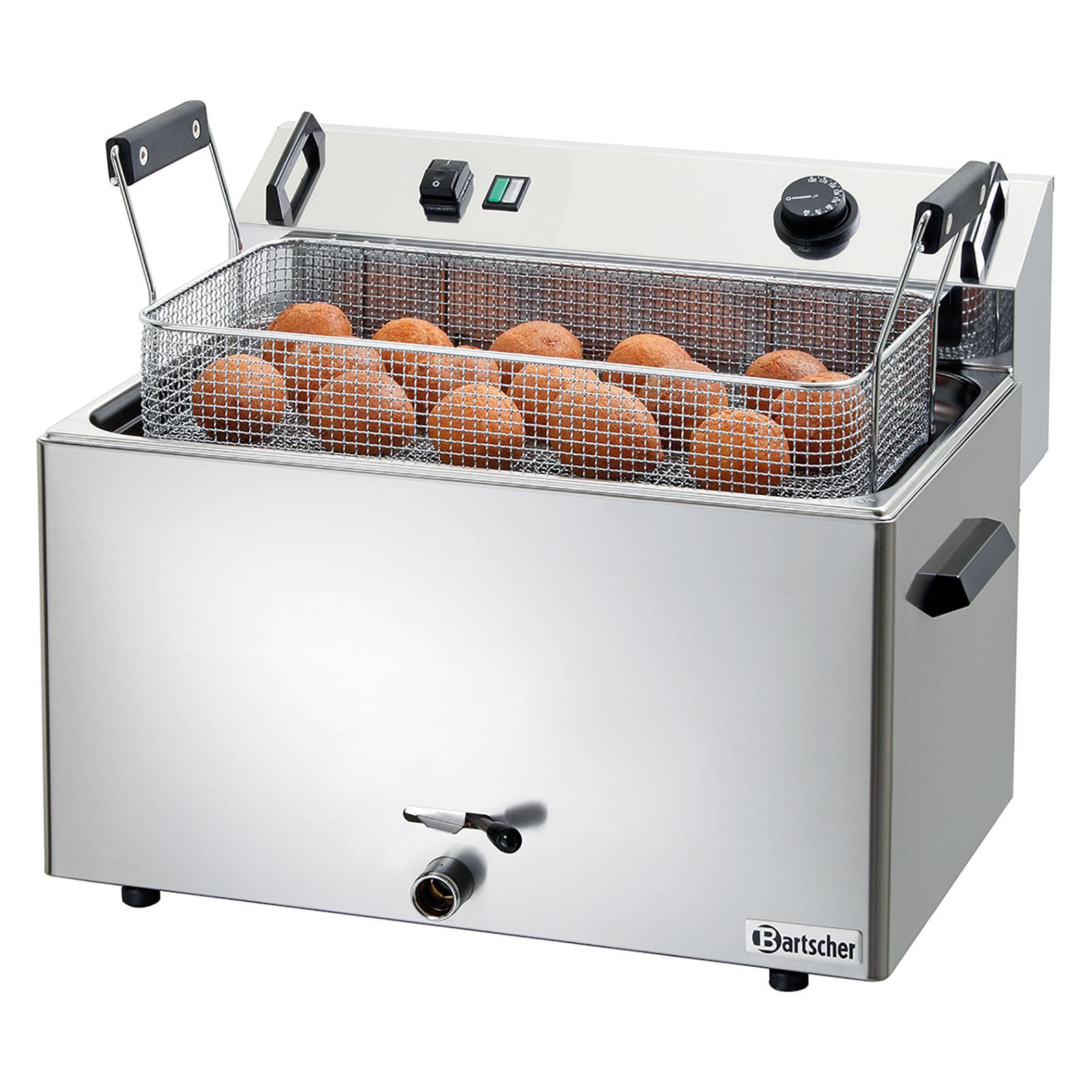 Bartscher Fritteuse - 1 x 16 Liter - Erdgas - 20 mbar 10190141