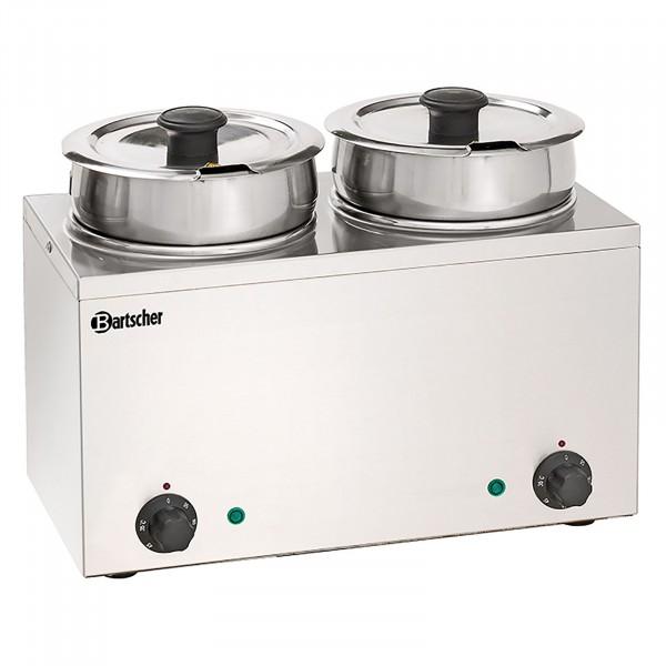 Bartscher Bain Marie Hotpot - 2 x Topf - 3,5 Liter 10190213