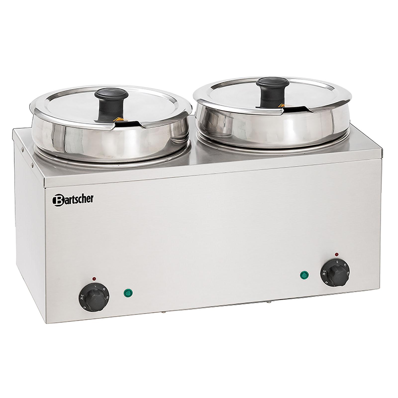 Bartscher Bain Marie Hotpot - 2 x Topf - 6,5 Liter 10190214