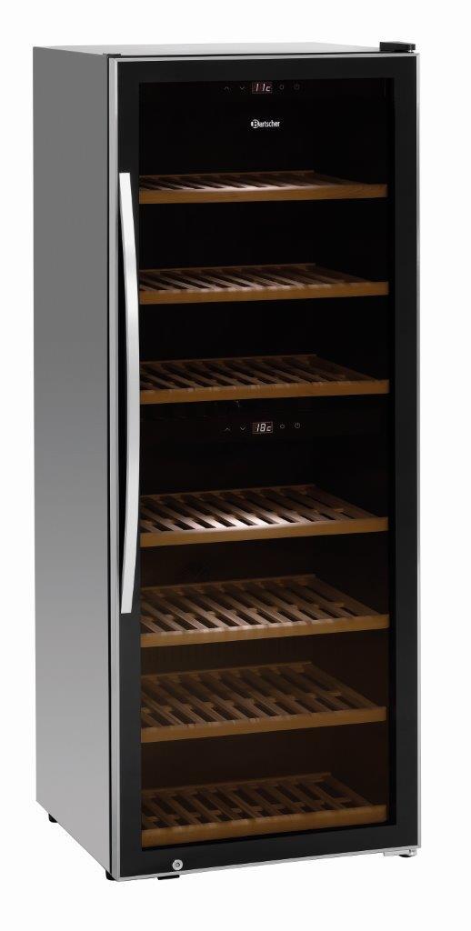 Bartscher Weinkühlschrank 2Z 126FL 700131