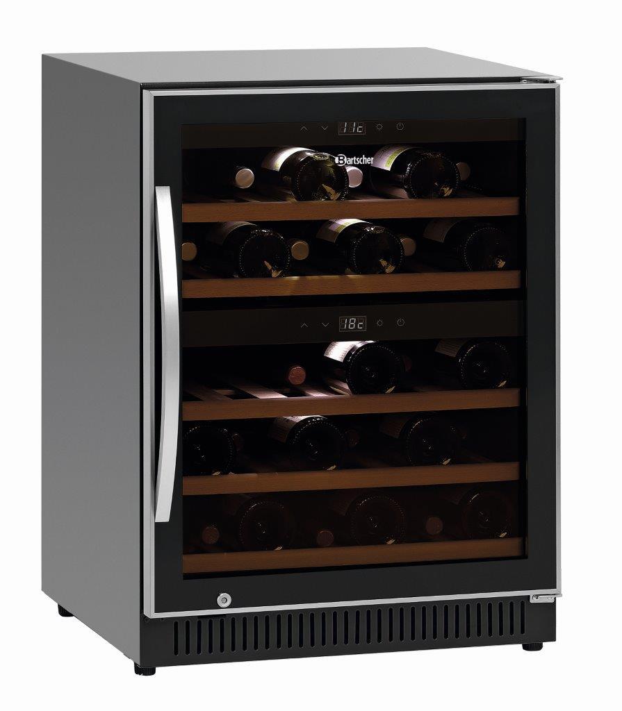 Bartscher Weinkühlschrank 2Z 40FL 700133