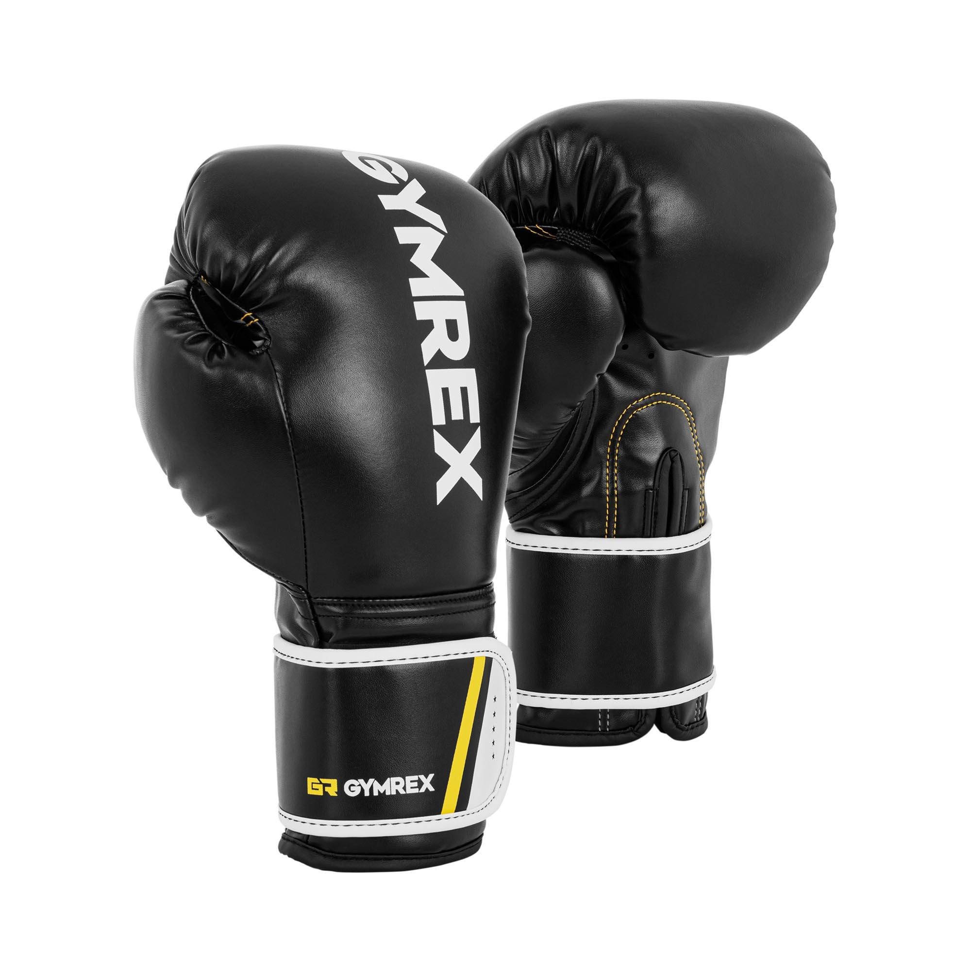Gymrex Boxhandschuhe - 14 oz - schwarz GR-BG 14BB