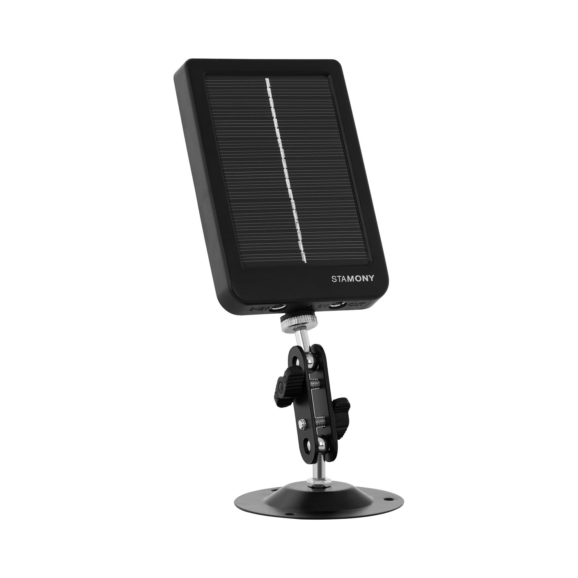 Stamony Solarpanel Wildkamera - 7 V - inkl. Zubehör ST-SP-3000