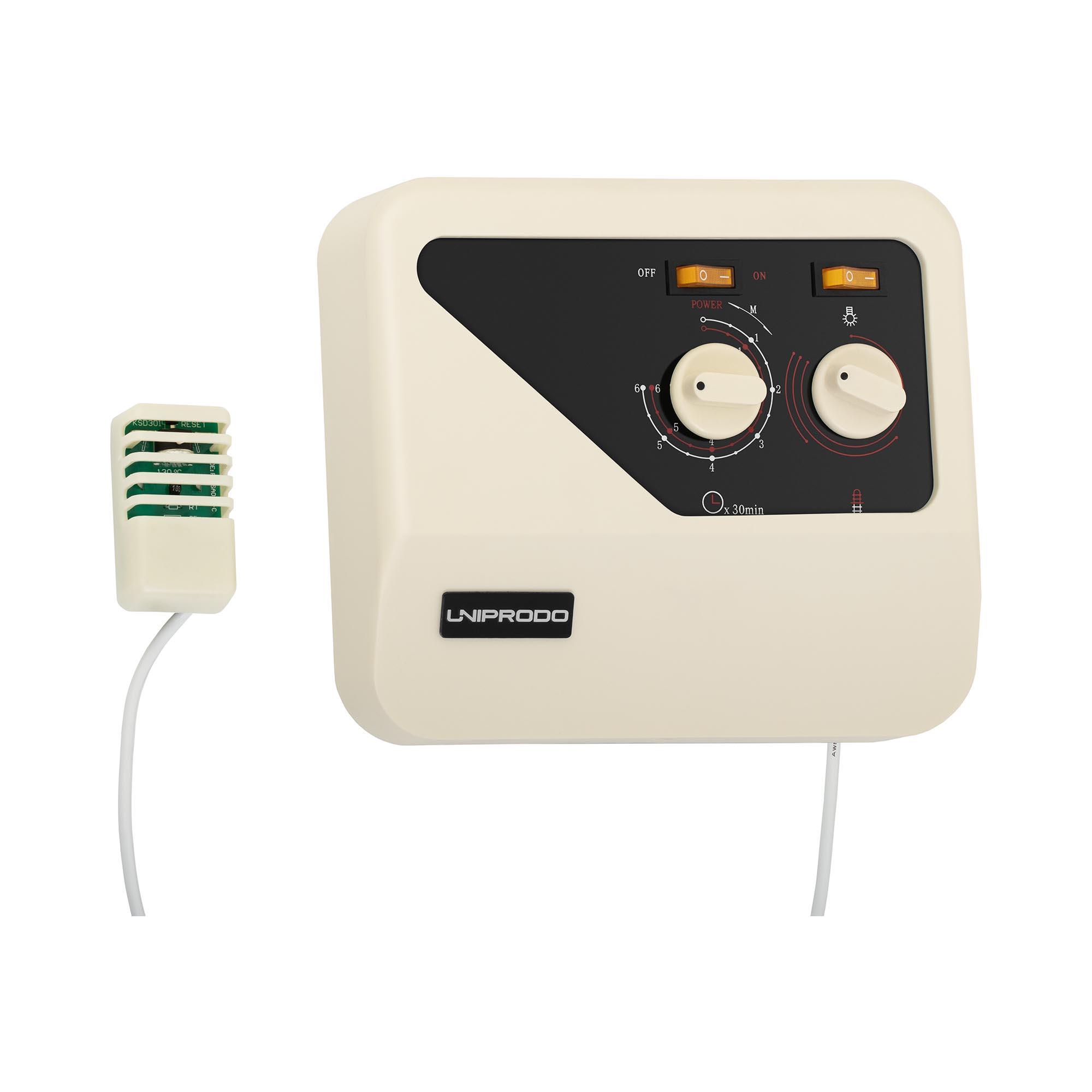 Uniprodo Saunasteuerung - Überhitzungsschutz 10250226