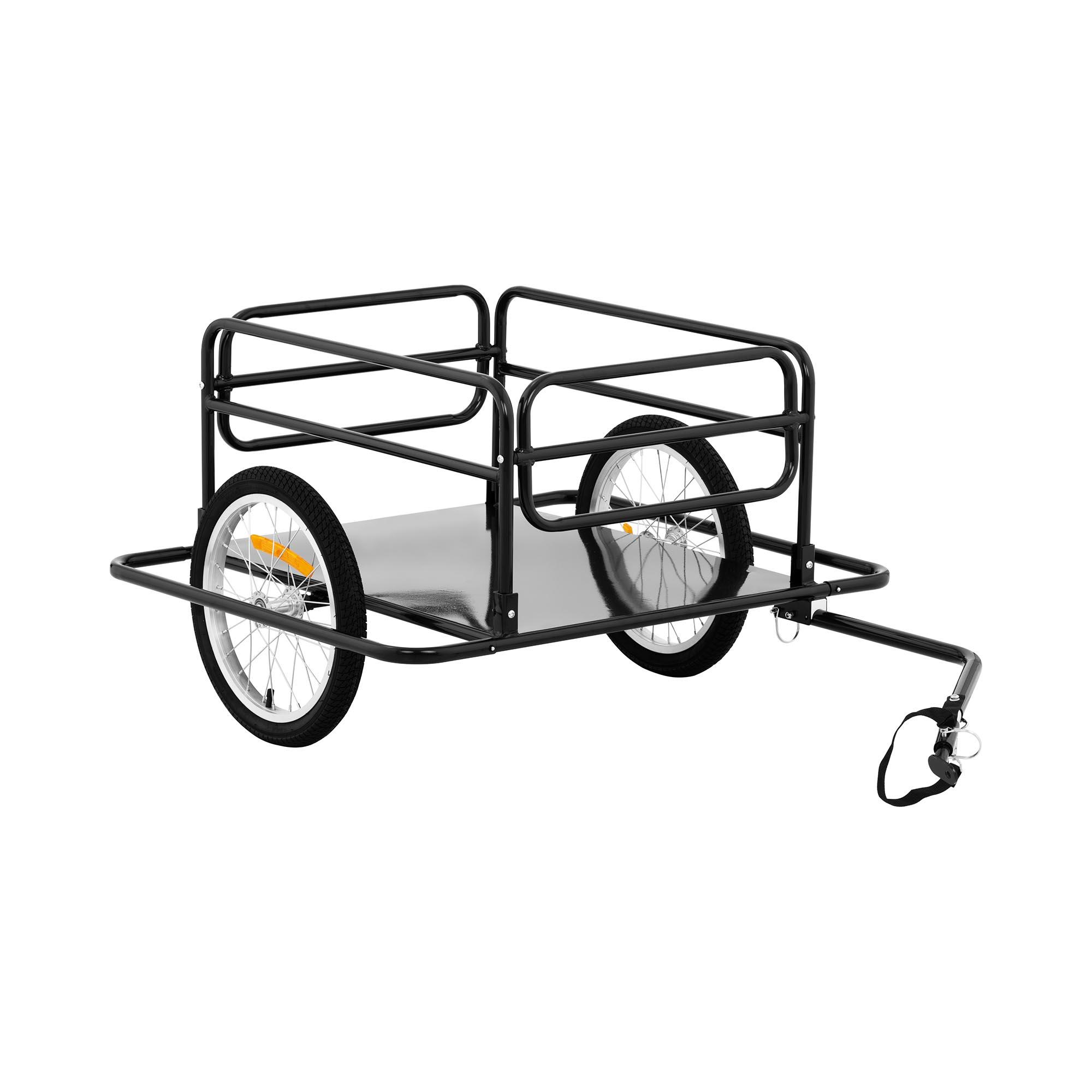 Uniprodo Fahrrad Lastenanhänger - 50 kg - Speichenreflektoren UNI_TRAILER_07