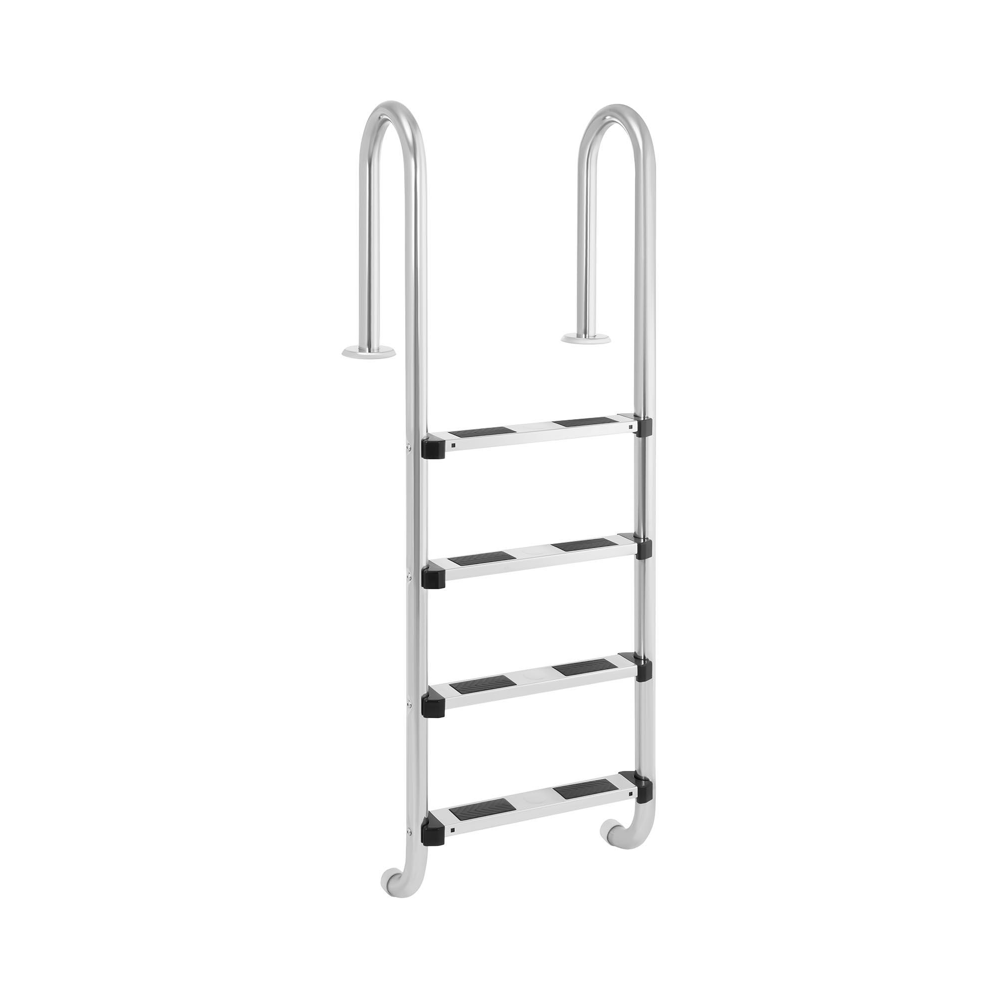 Uniprodo Poolleiter - 4 Stufen - enger Holmbogen 10250267
