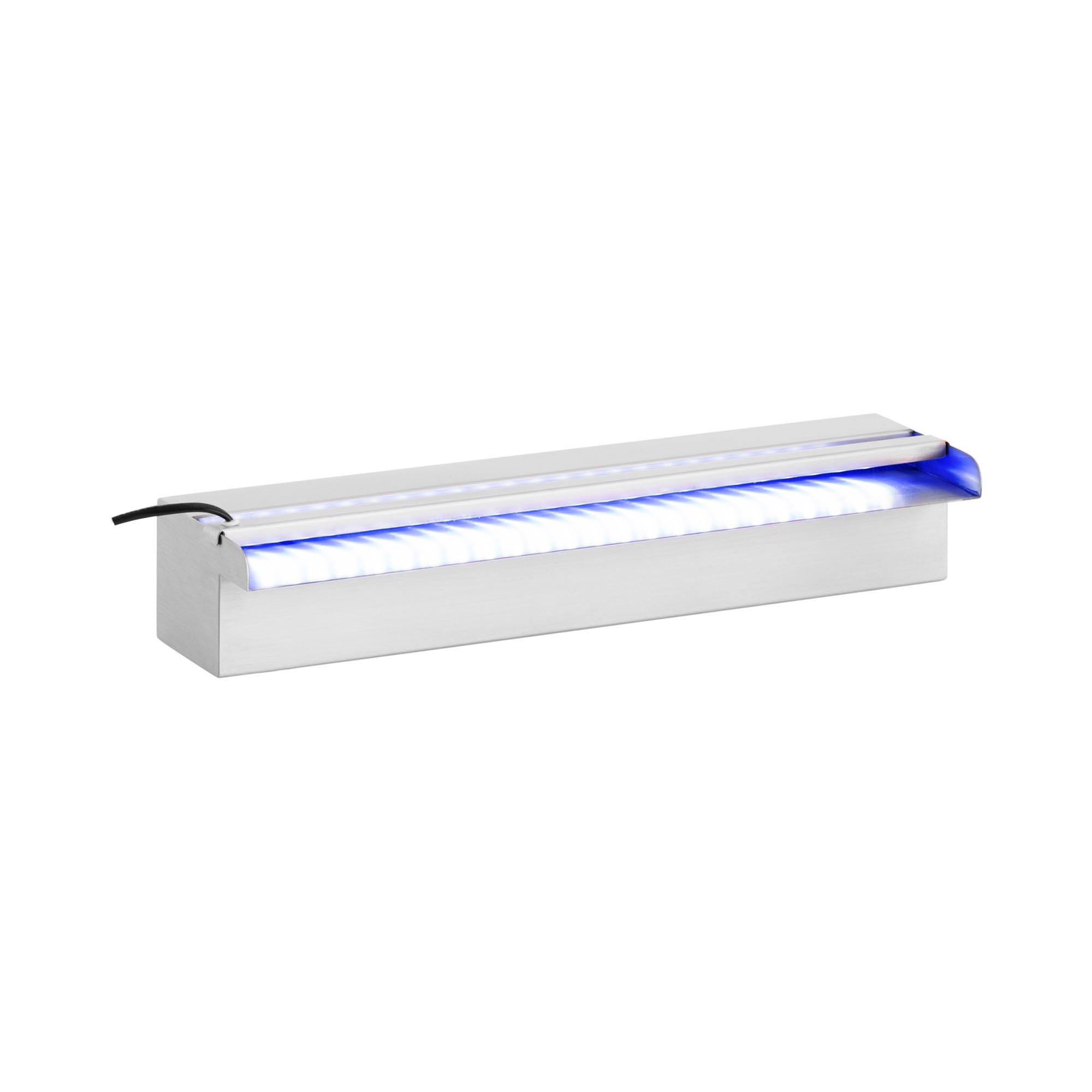 Uniprodo Schwalldusche Pool - 60 cm - LED-Beleuchtung 10250300