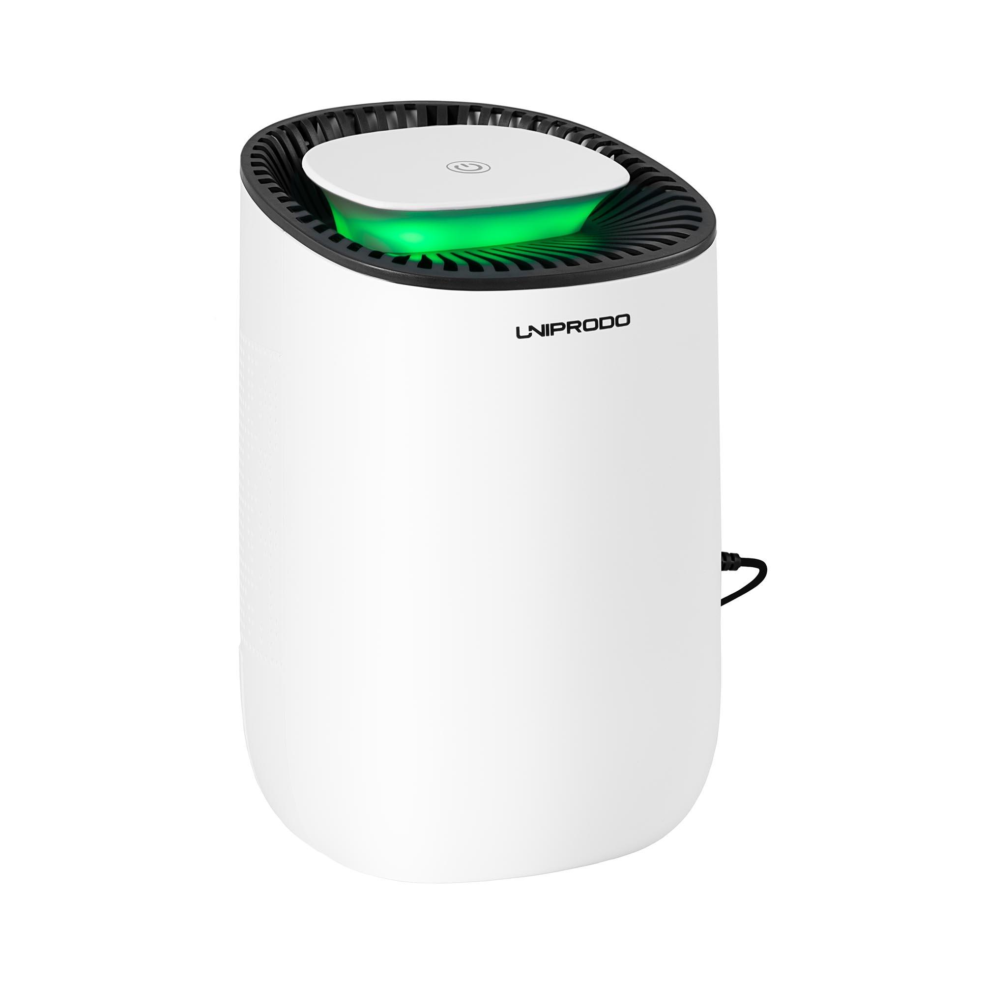 Uniprodo Luftentfeuchter - 300 ml/Tag - 15 m² - LED UNI_DEHUMIDIFIER_01