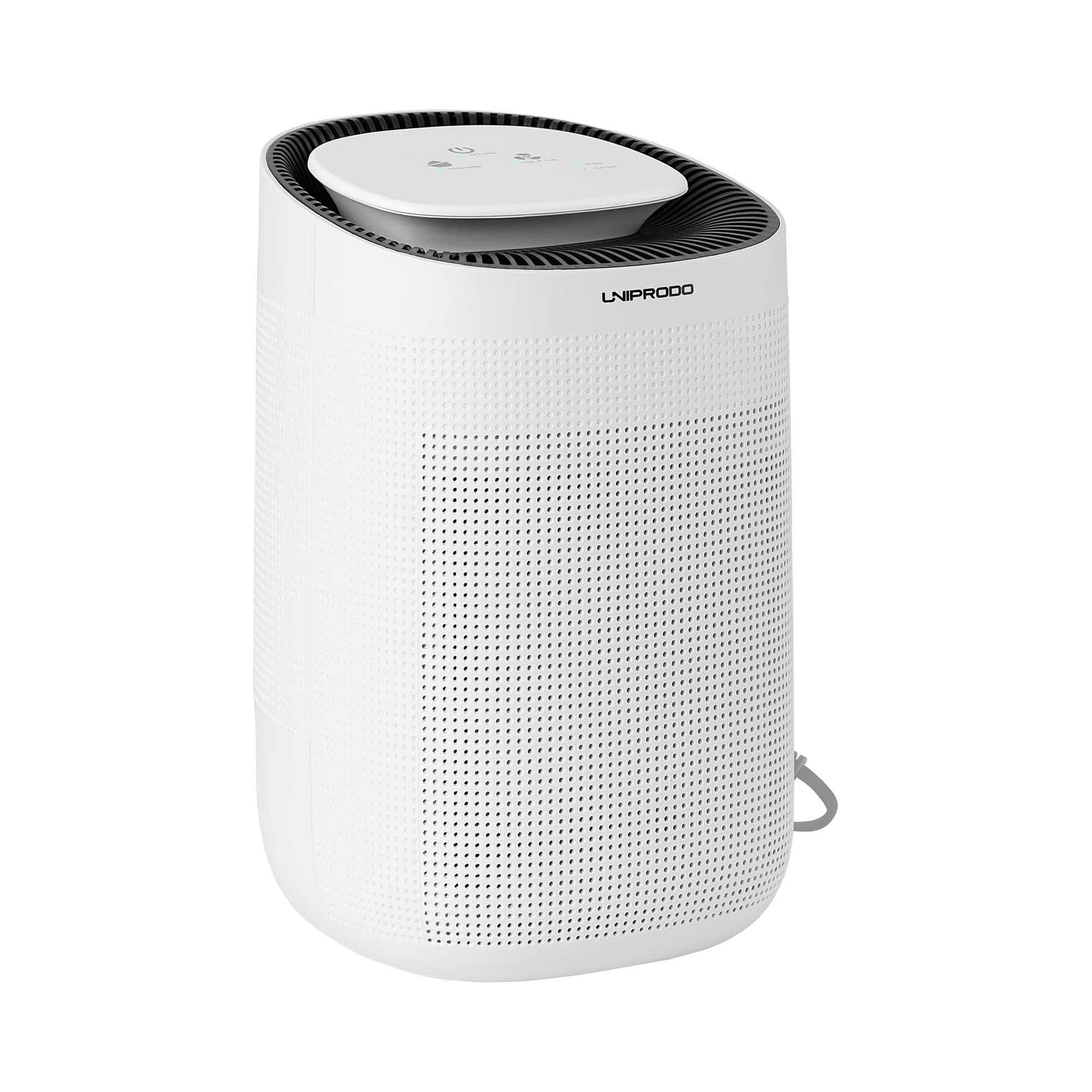 Uniprodo Luftentfeuchter - mit Luftreiniger - 750 ml/Tag - 20 m² UNI_DEHUMIDIFIER_02